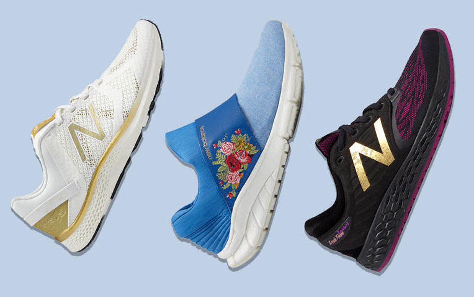 New Balance x Beauty and the Beast Sneakers