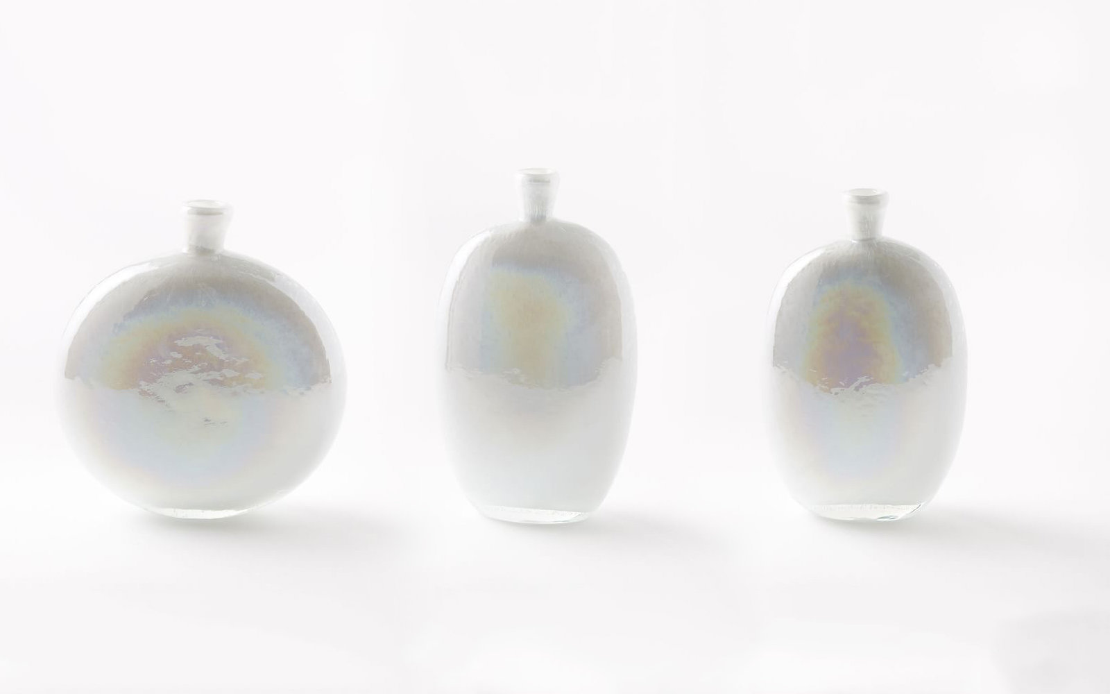 Pearl Glass Vases 3