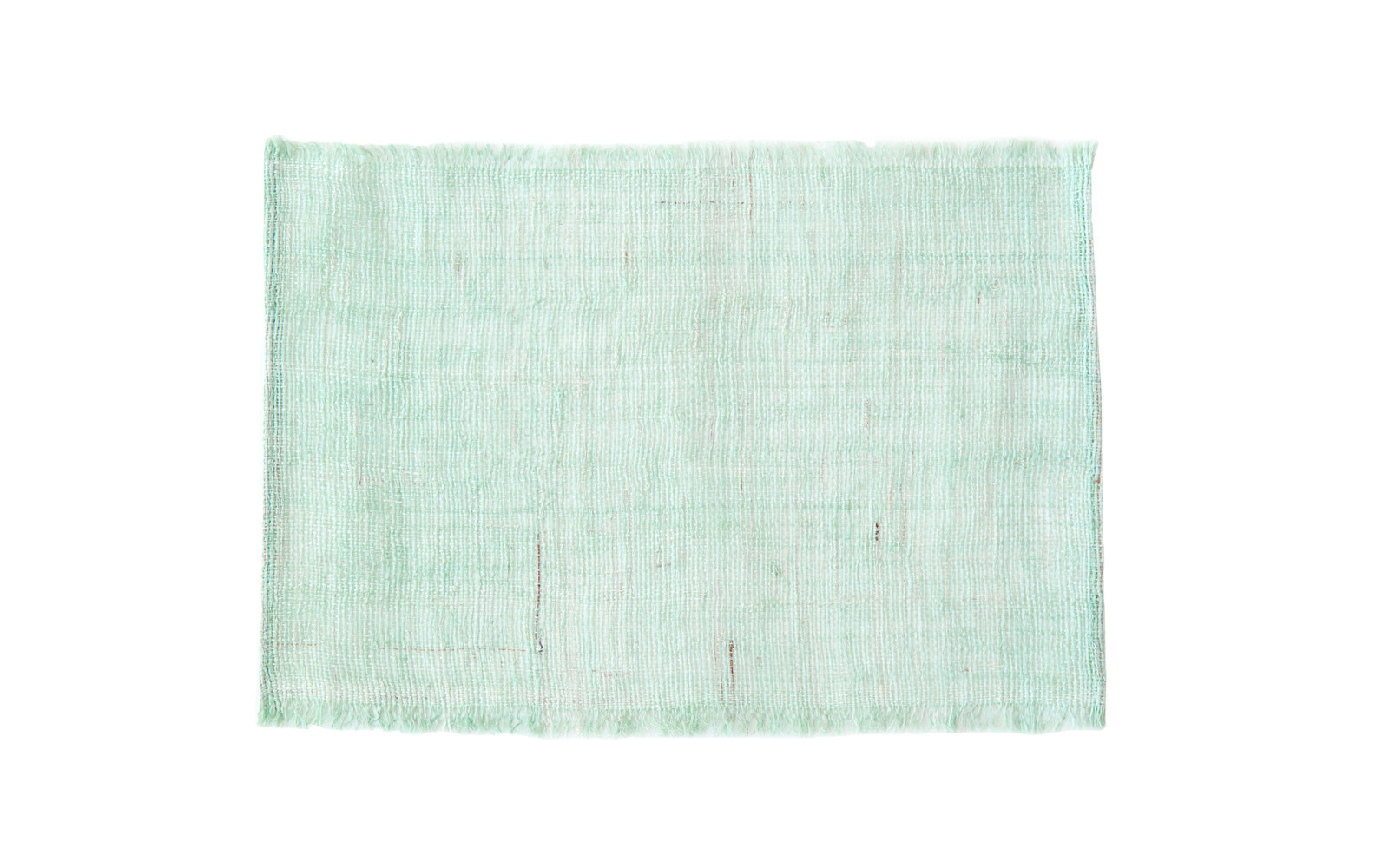 Zara Home Sea Green Raffia Place Mat