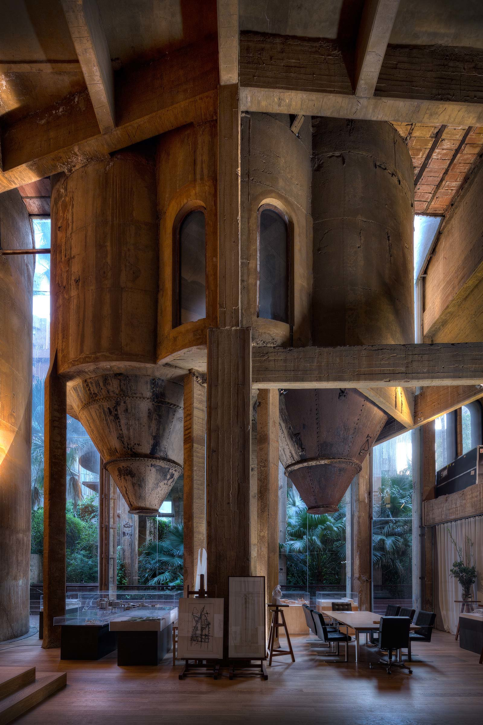 The Factory Ricardo Bofill Concrete Home