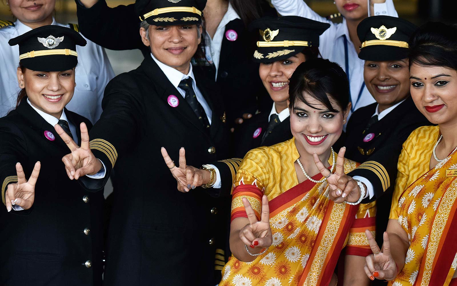 Air India girl power