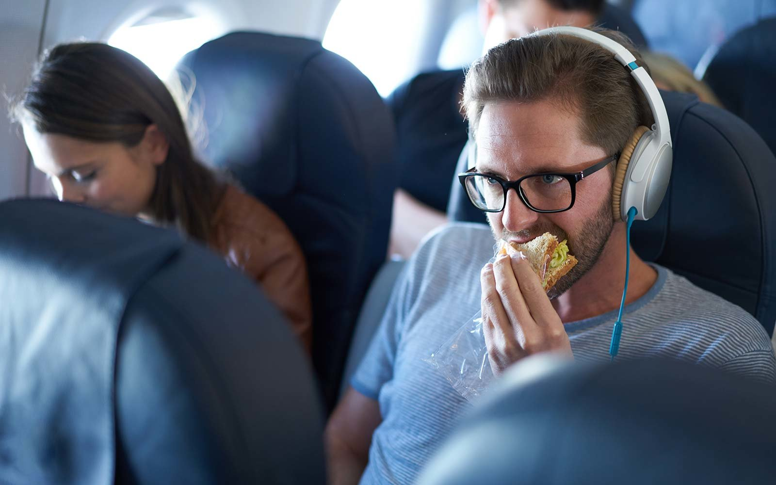 The airline that charges most for sandwich