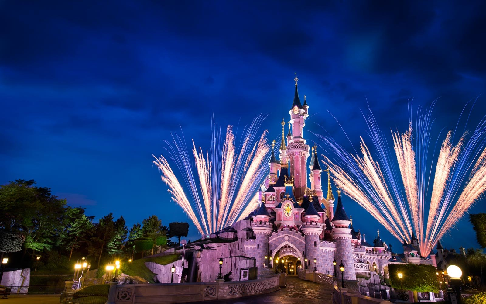 Fireworks, Disneyland Paris, France