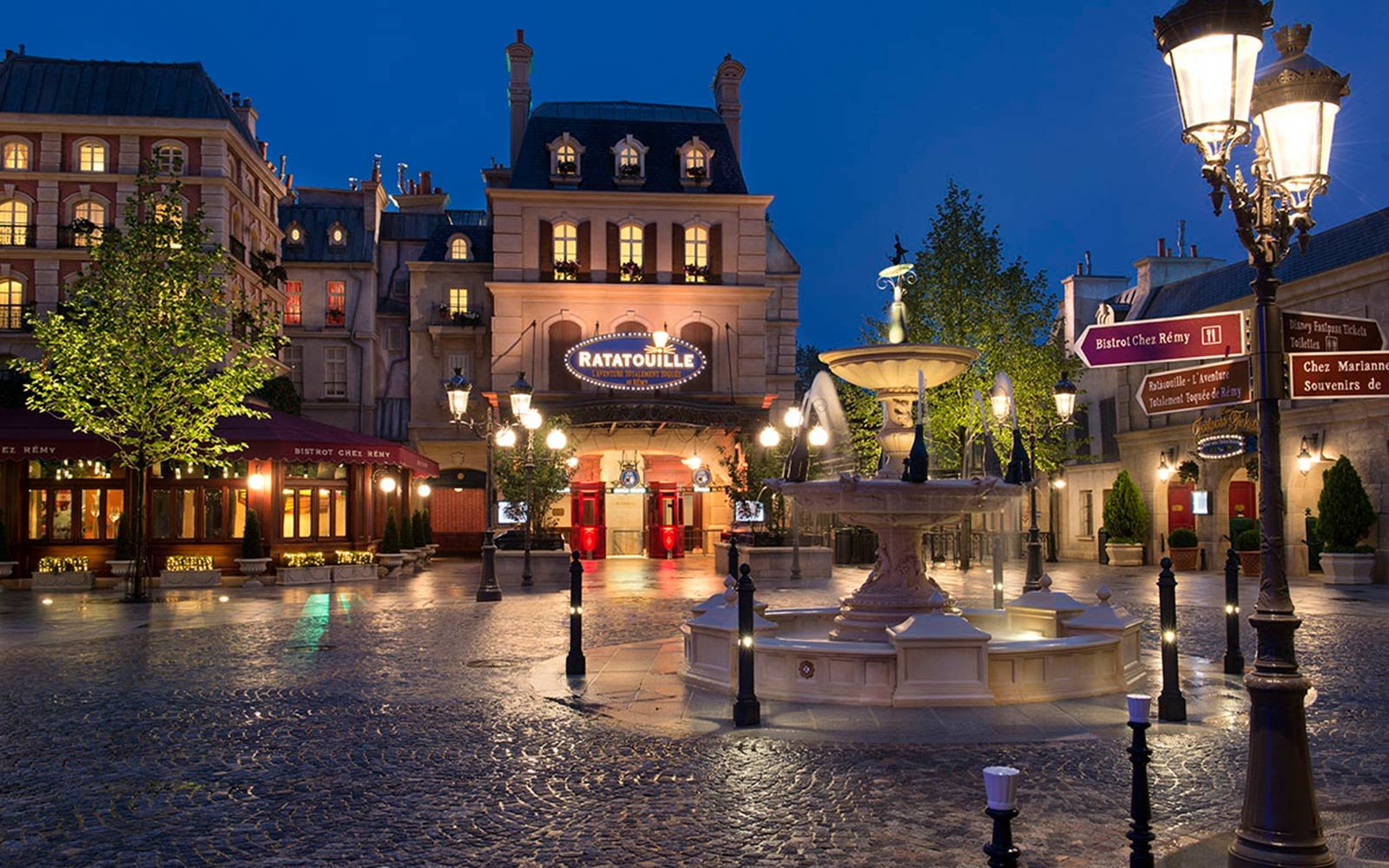 Ratatouille Bistro Chez Remy, Disneyland Paris, France