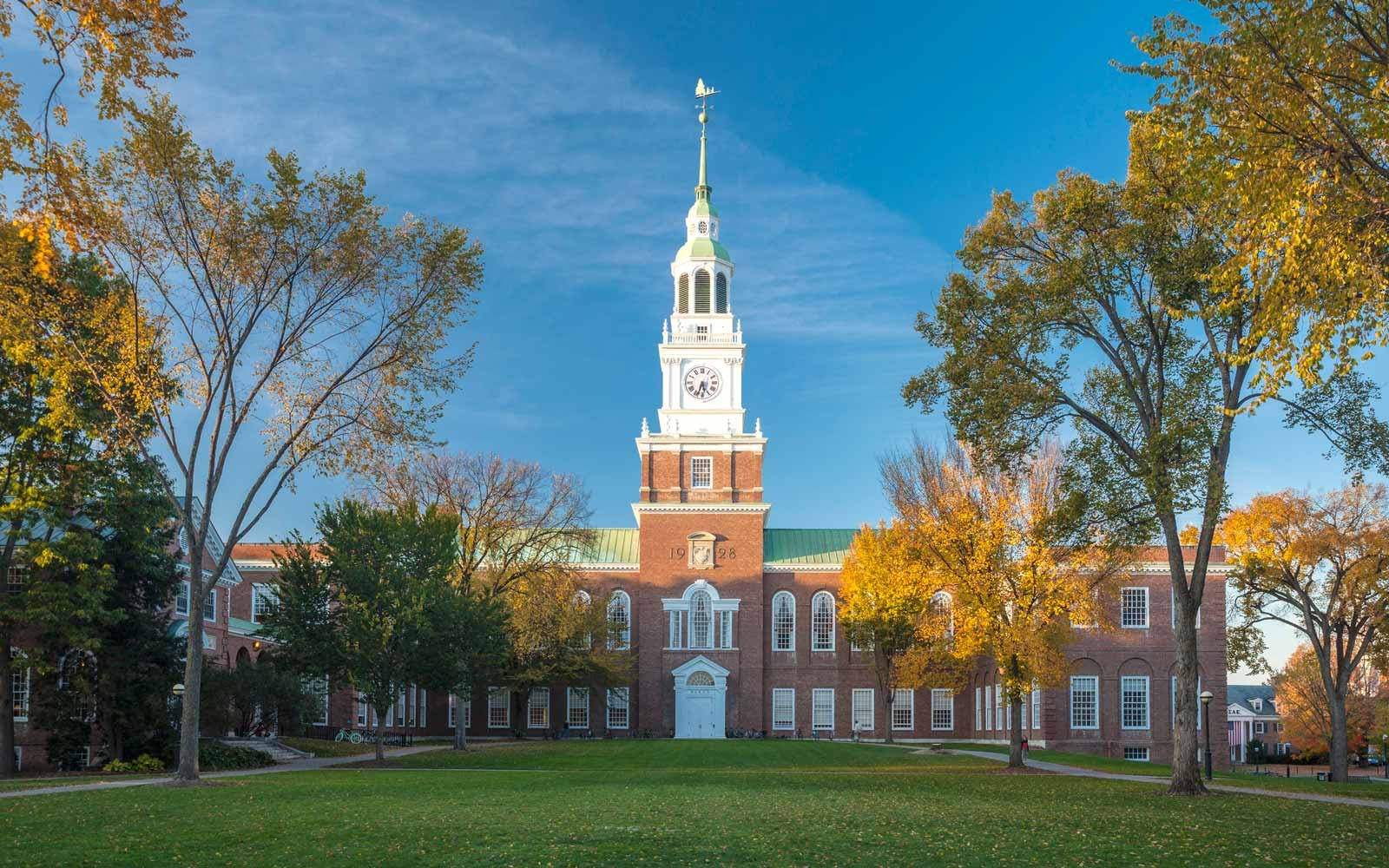 Dartmouth College in New Hampshire