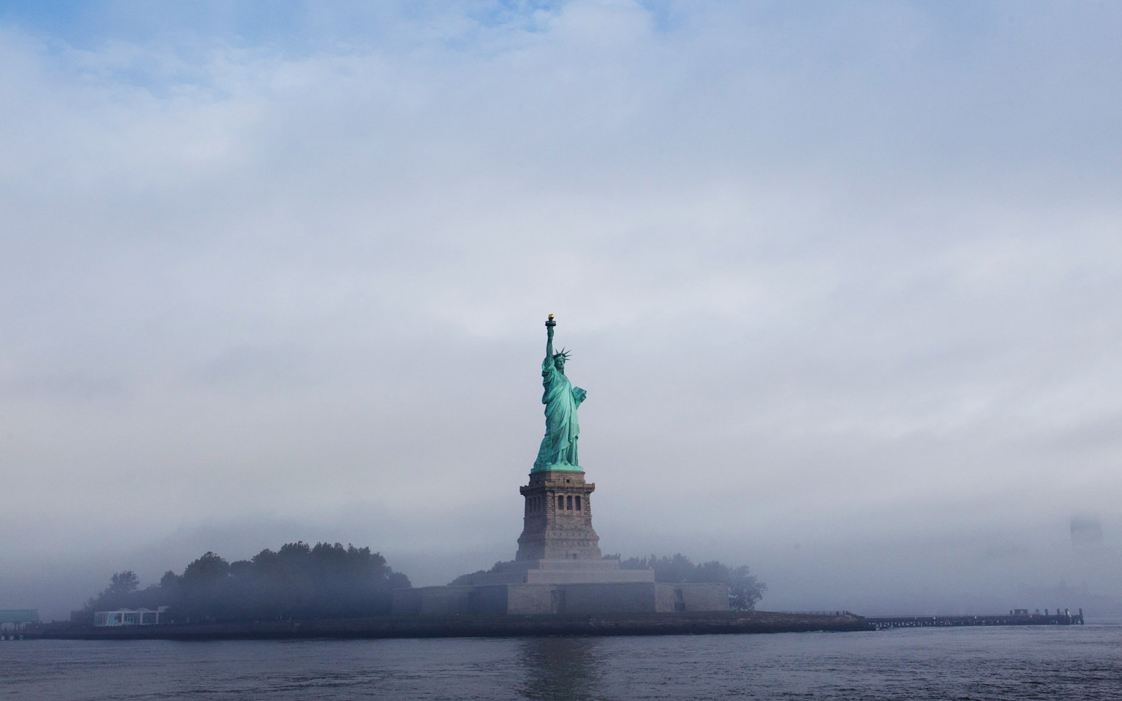 Conspiracy Theories About Why the Statue of Liberty Went Dark