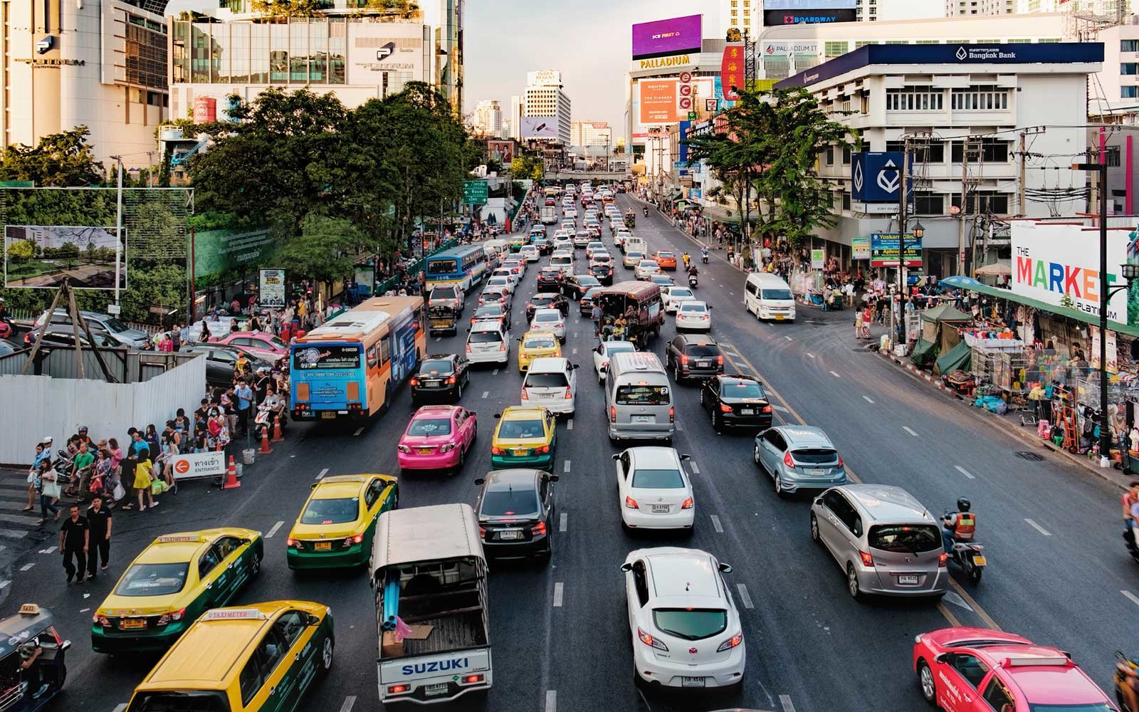 Worst Cities For Traffic