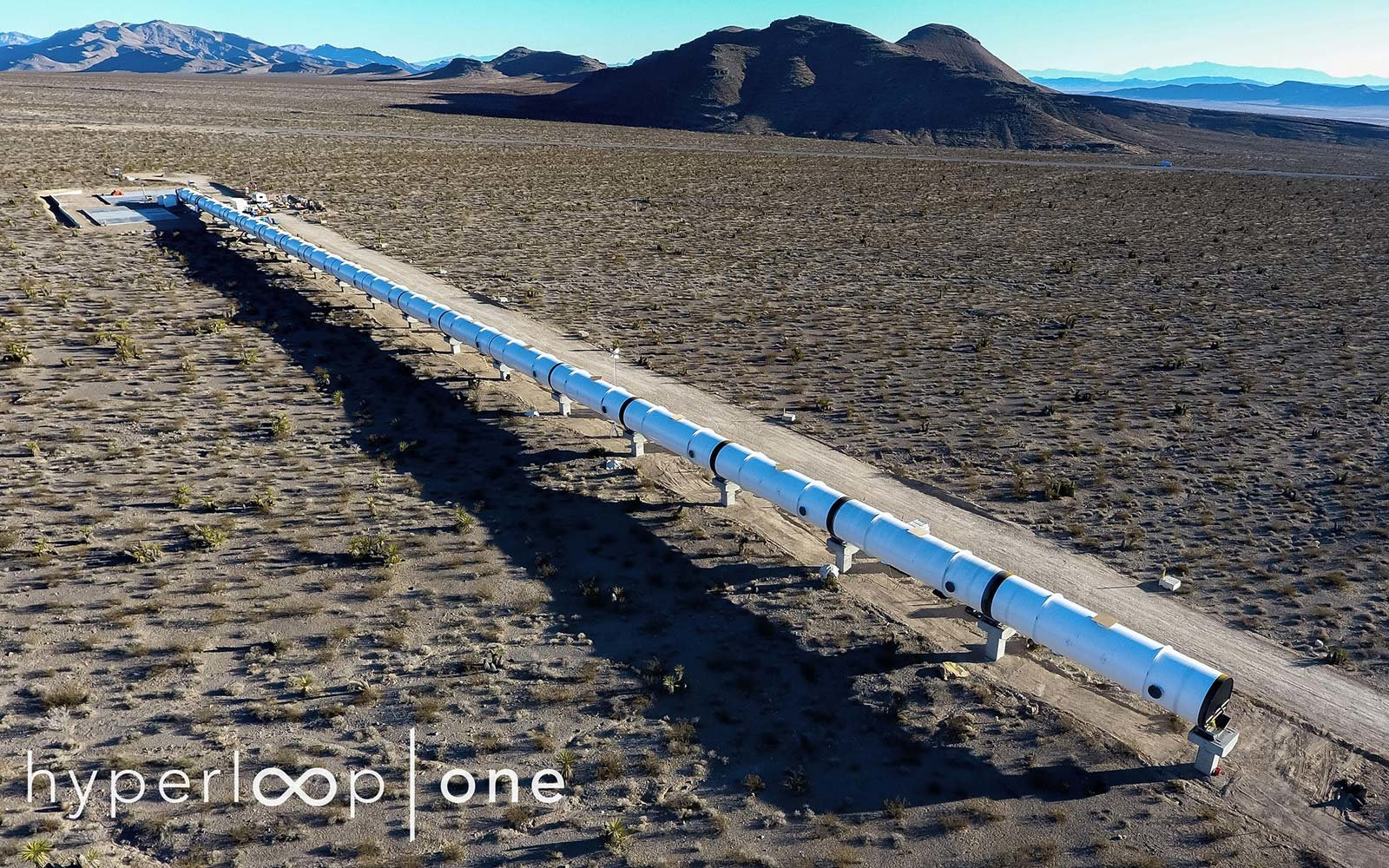 HyperLoop One Test Track in Nevada