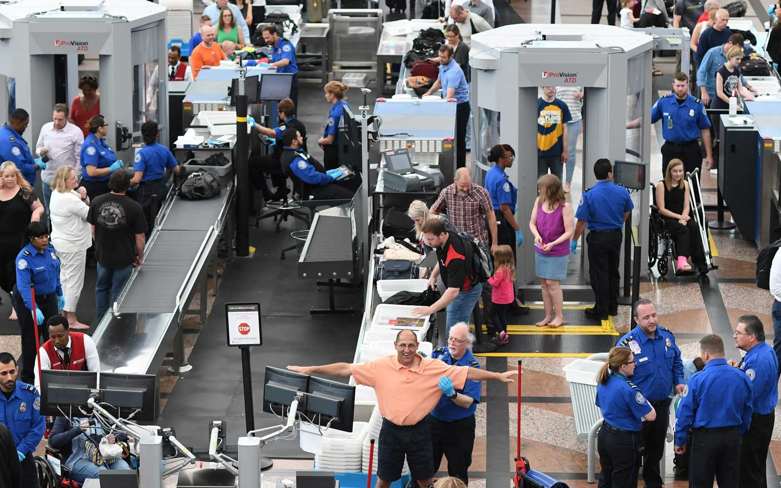 Airport Security Budget May Be Cut