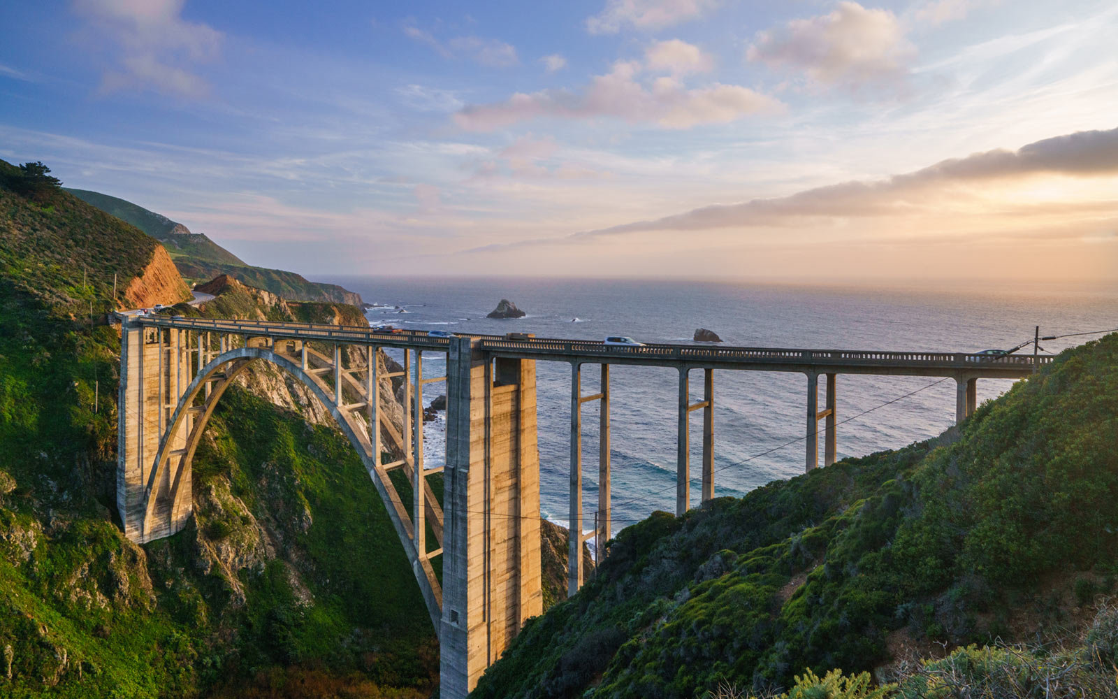 Bixby Creek Bridge, Monterey, California