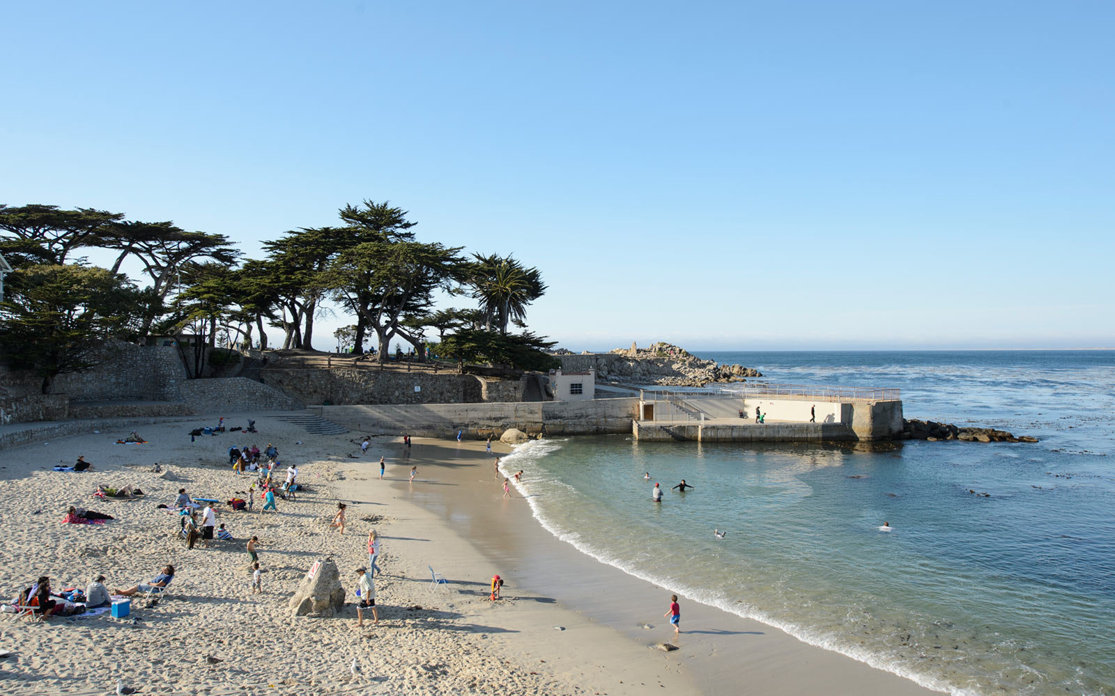 Lovers Point Park in Pacific Grove