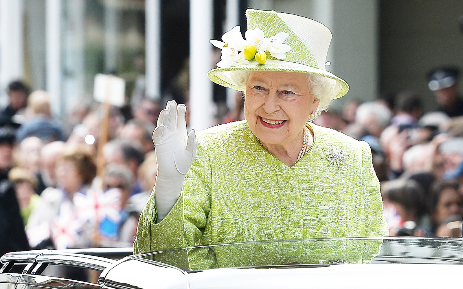 Queen Elizabeth only wears this one shade of $9 nail polish