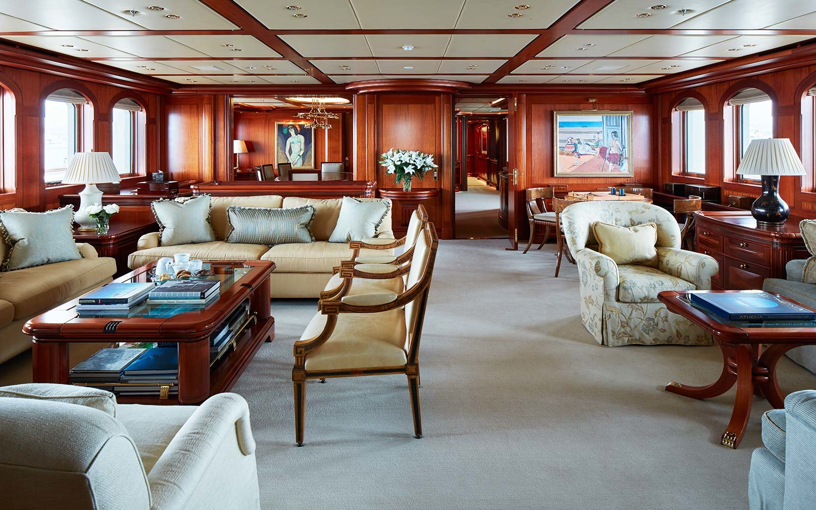 $59 million super yacht for sale - Athena