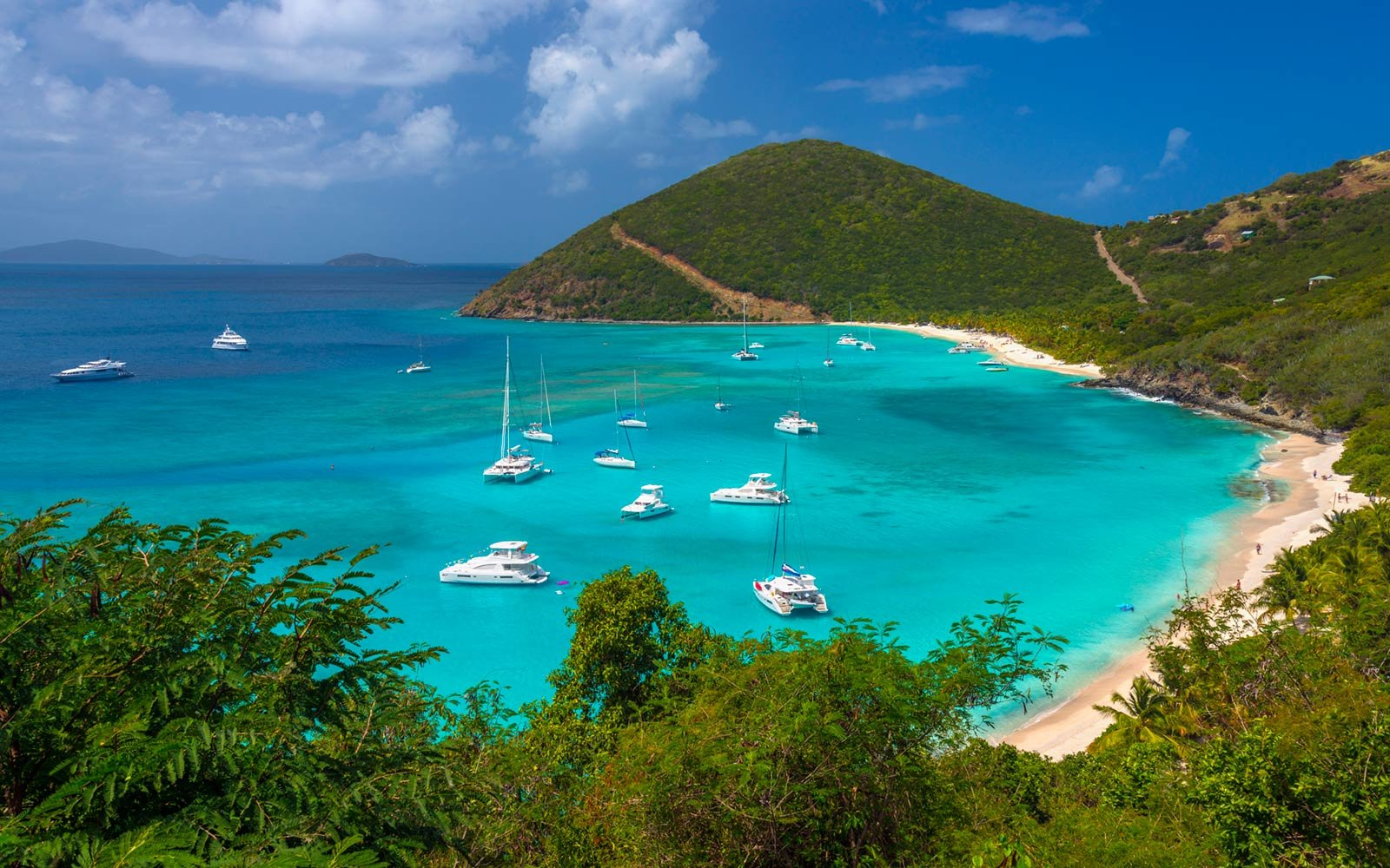 Jost Van Dyke, White Bay, British Virgin Islands, Caribbean