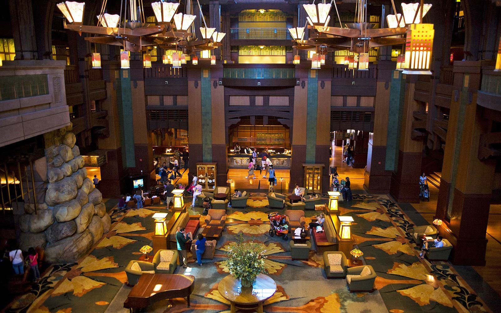 Disney's Grand Californian Hotel - Anaheim, California