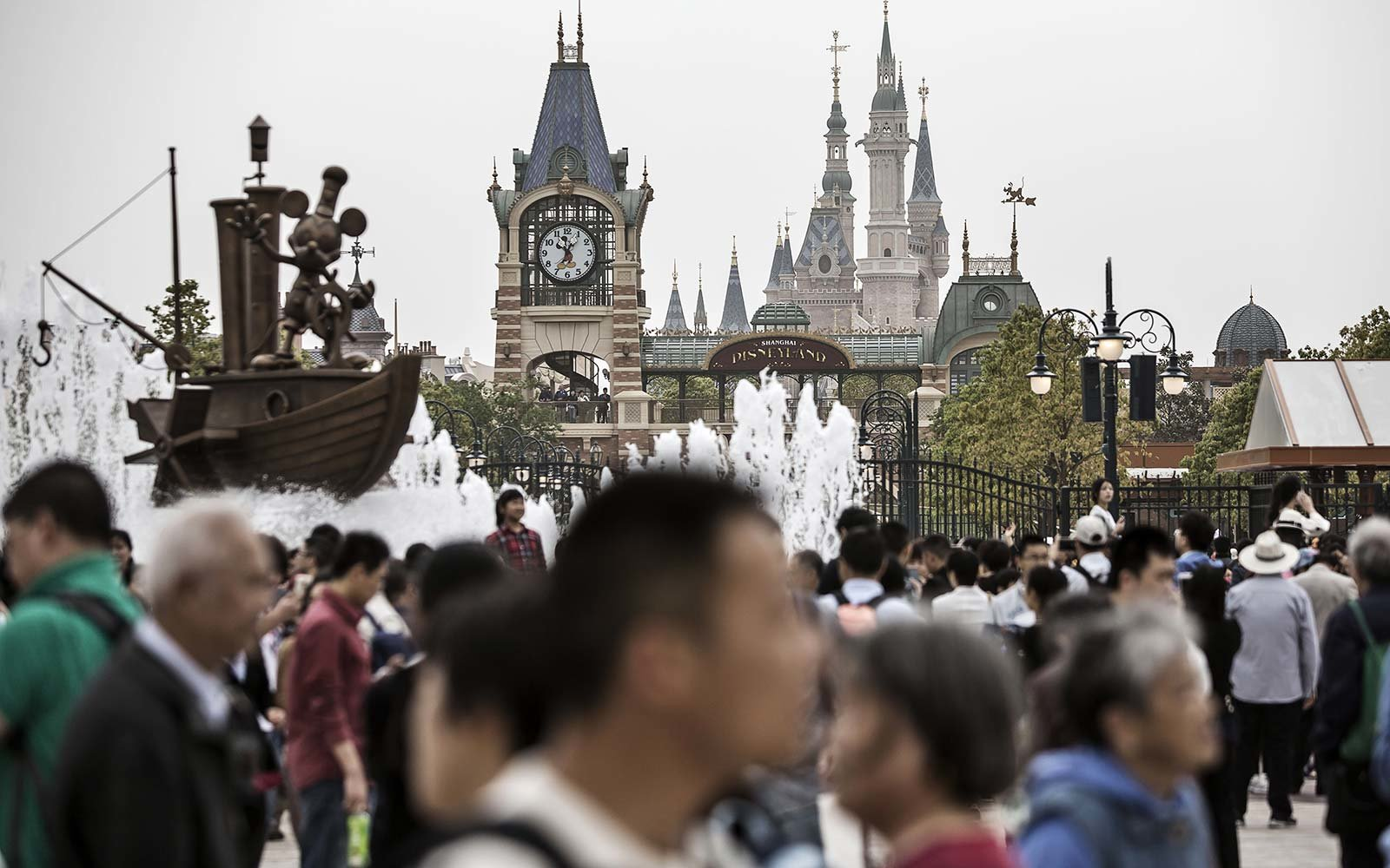 Disneytown - Shanghai, China