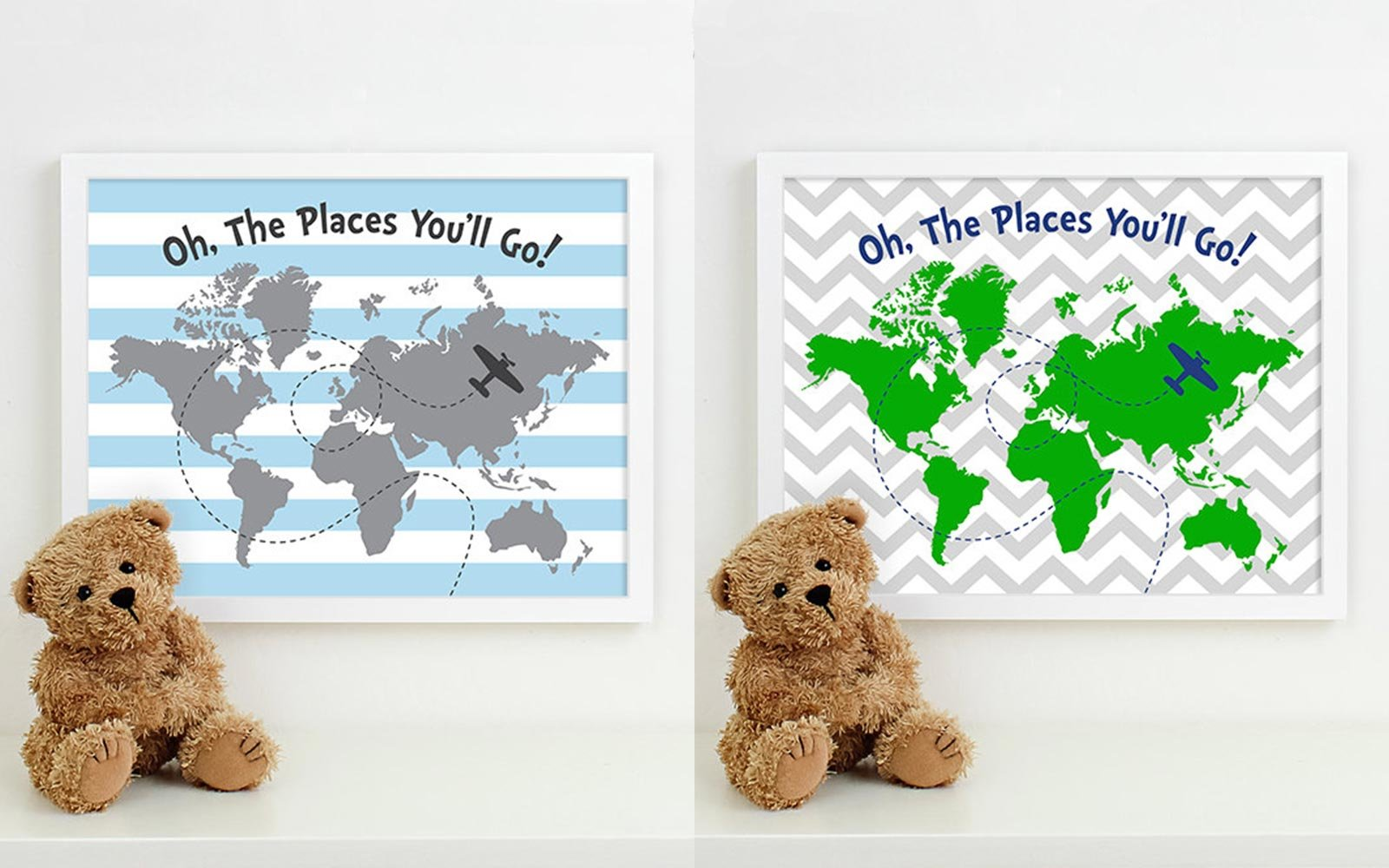 Kid Travel Room Decor