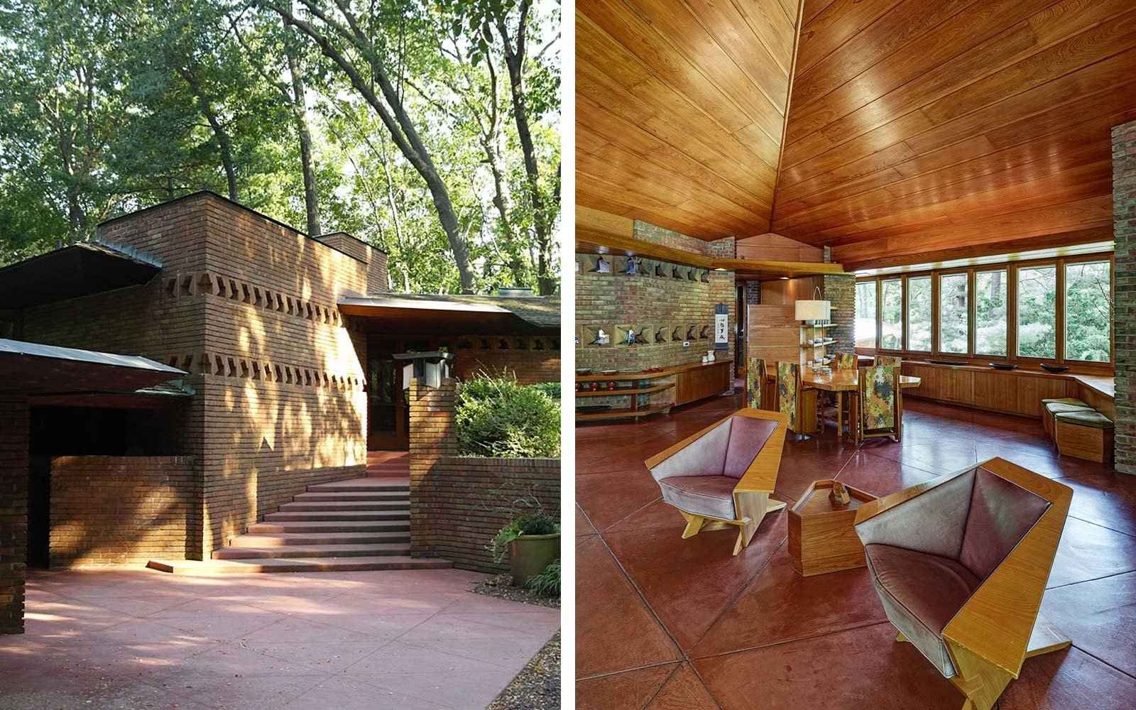 10 must see houses designed by architect frank lloyd wright travel