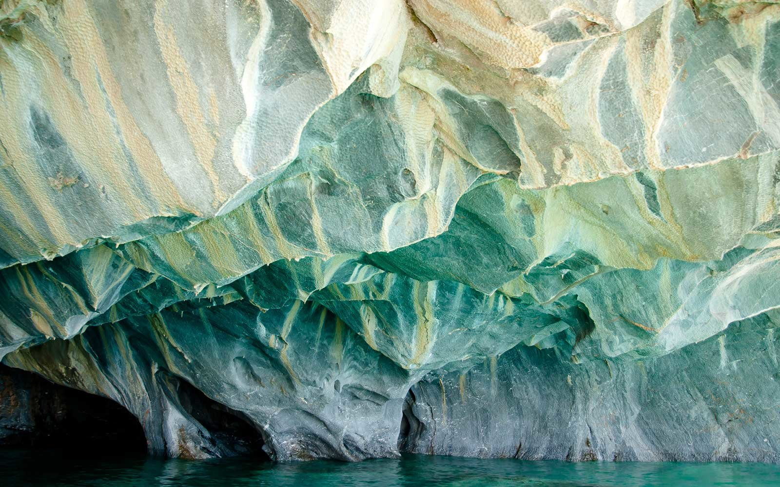 In Photos Patagonias Stunning Marble Caves