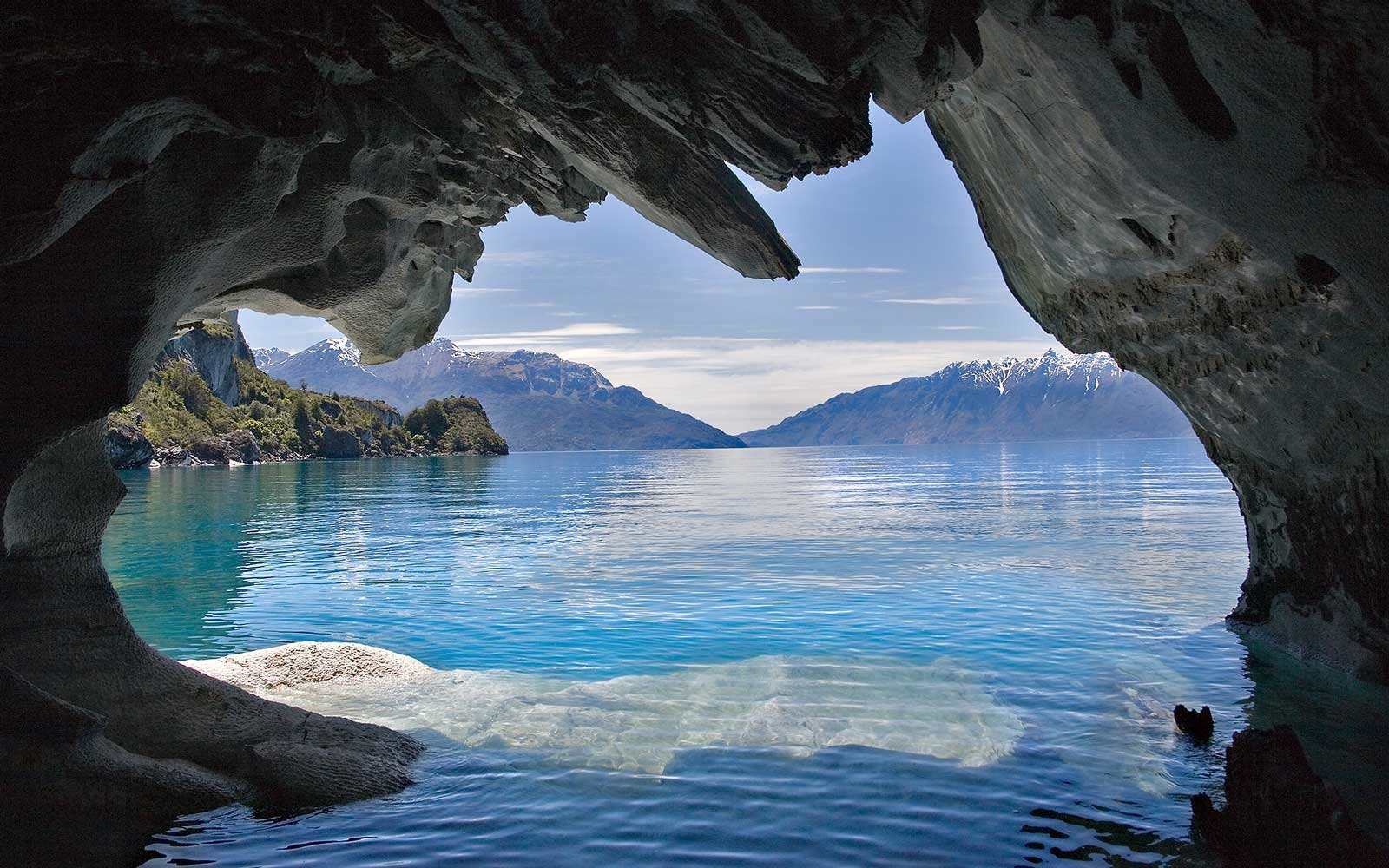In Photos Patagonia S Stunning Marble Caves Travel Leisure