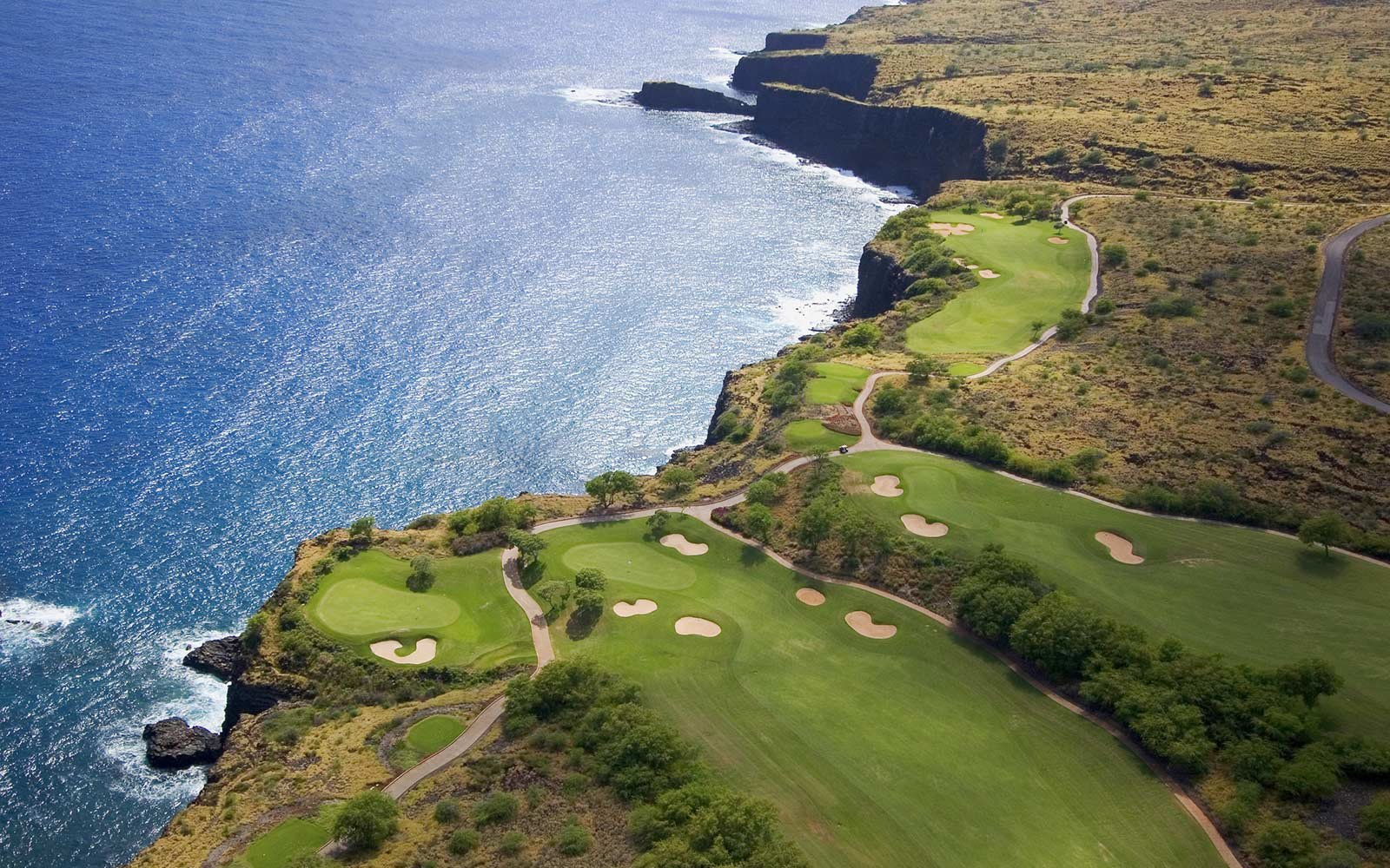 Manele Golf Course, Lanai, Hawaii