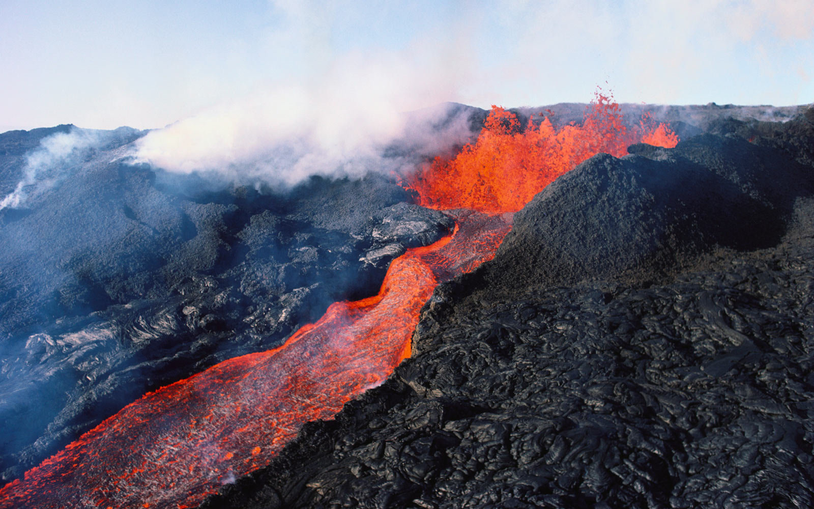 Mauna Loa, Volcanoes, National Park, Hawaii