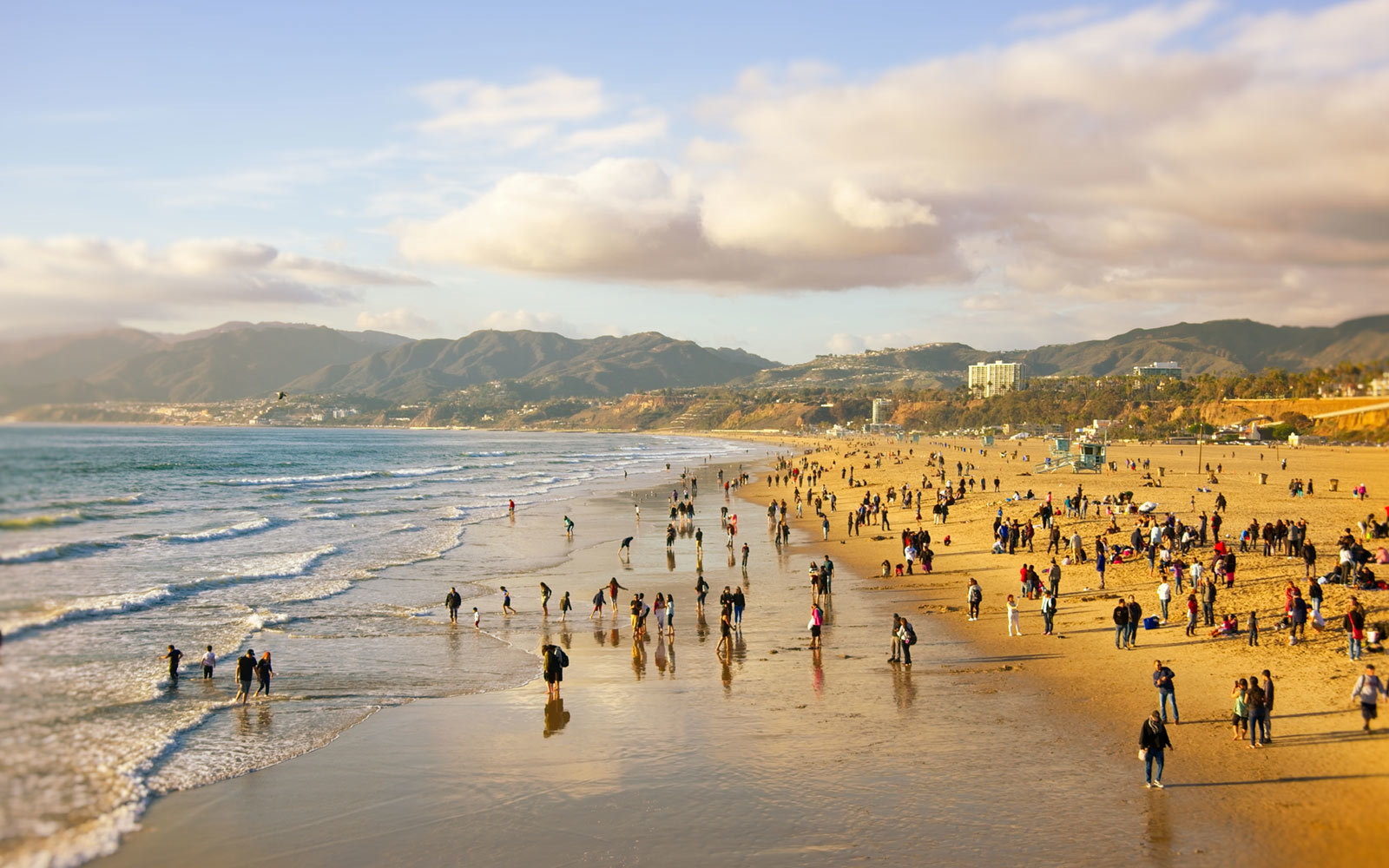 Santa Monica Beach, California
