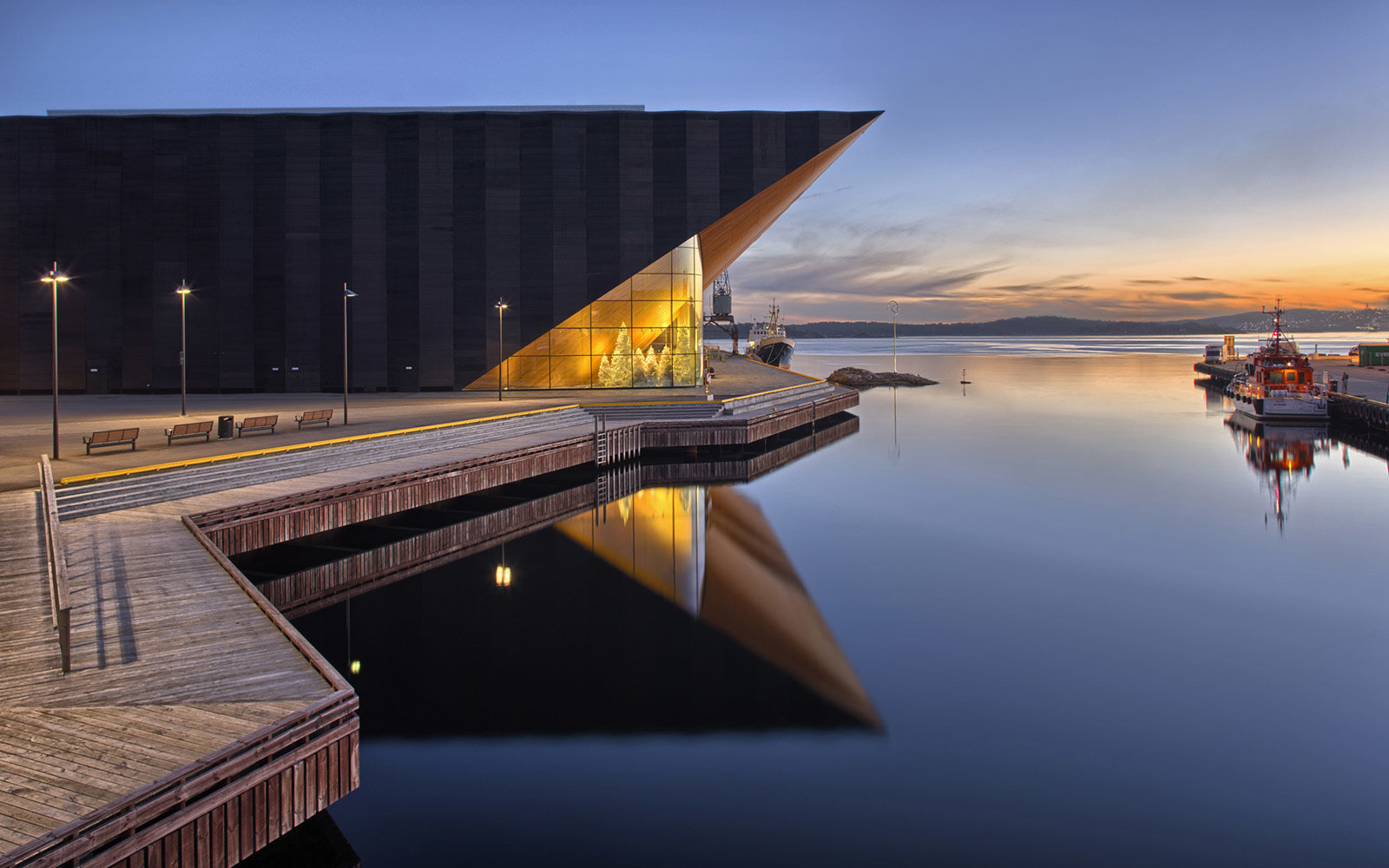 Kilden Theatre and Concert hall, Kristiansand, Norway