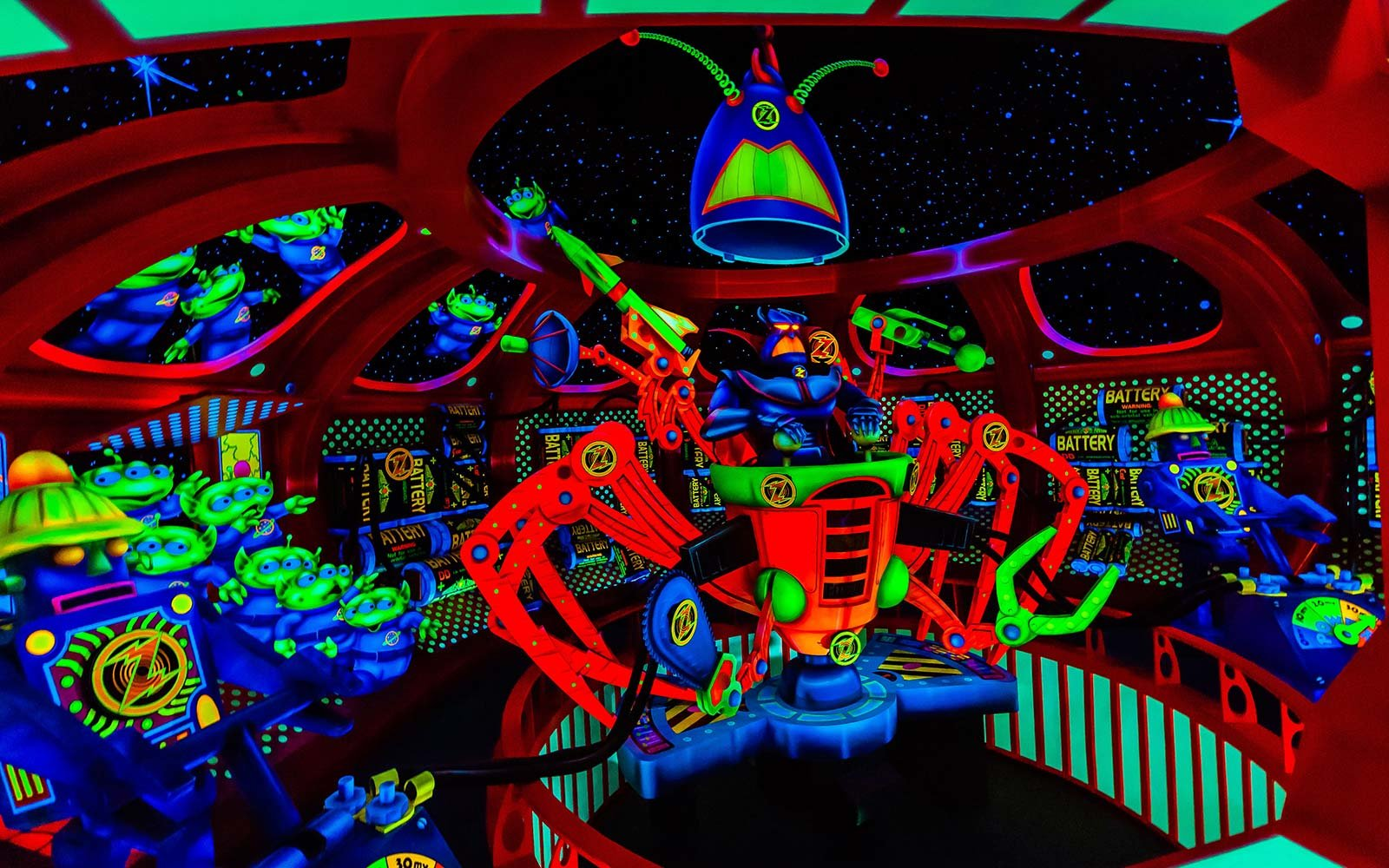 32. Buzz Lightyear's Space Ranger Spin