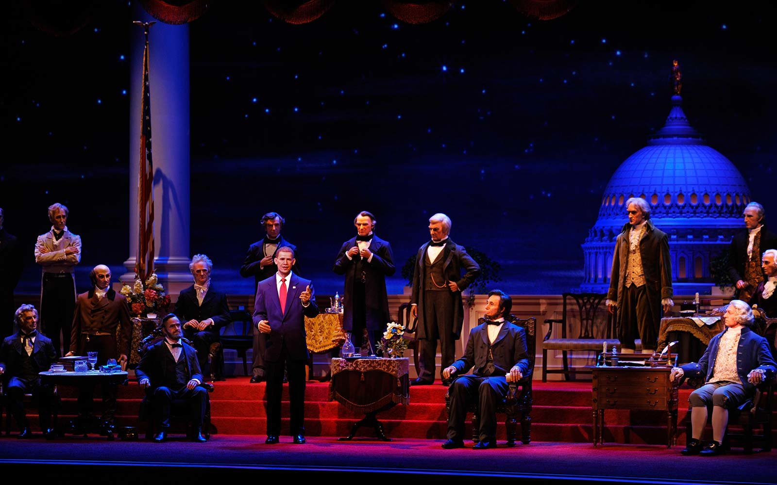 46. The Hall of Presidents