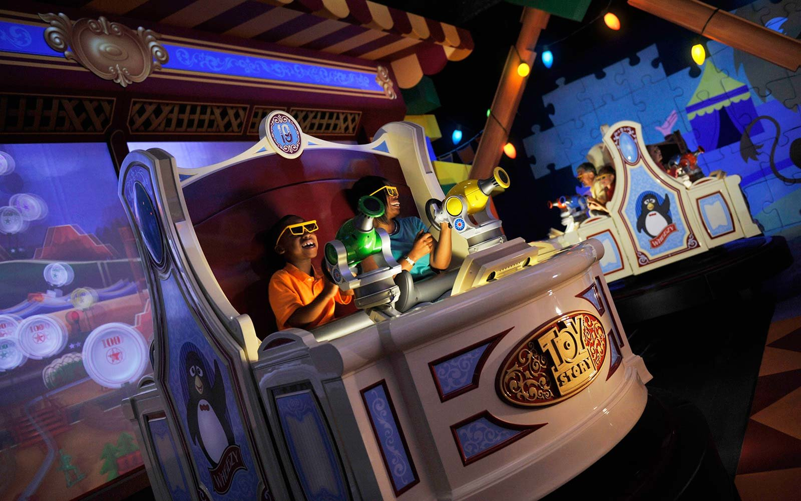6. Toy Story Mania!