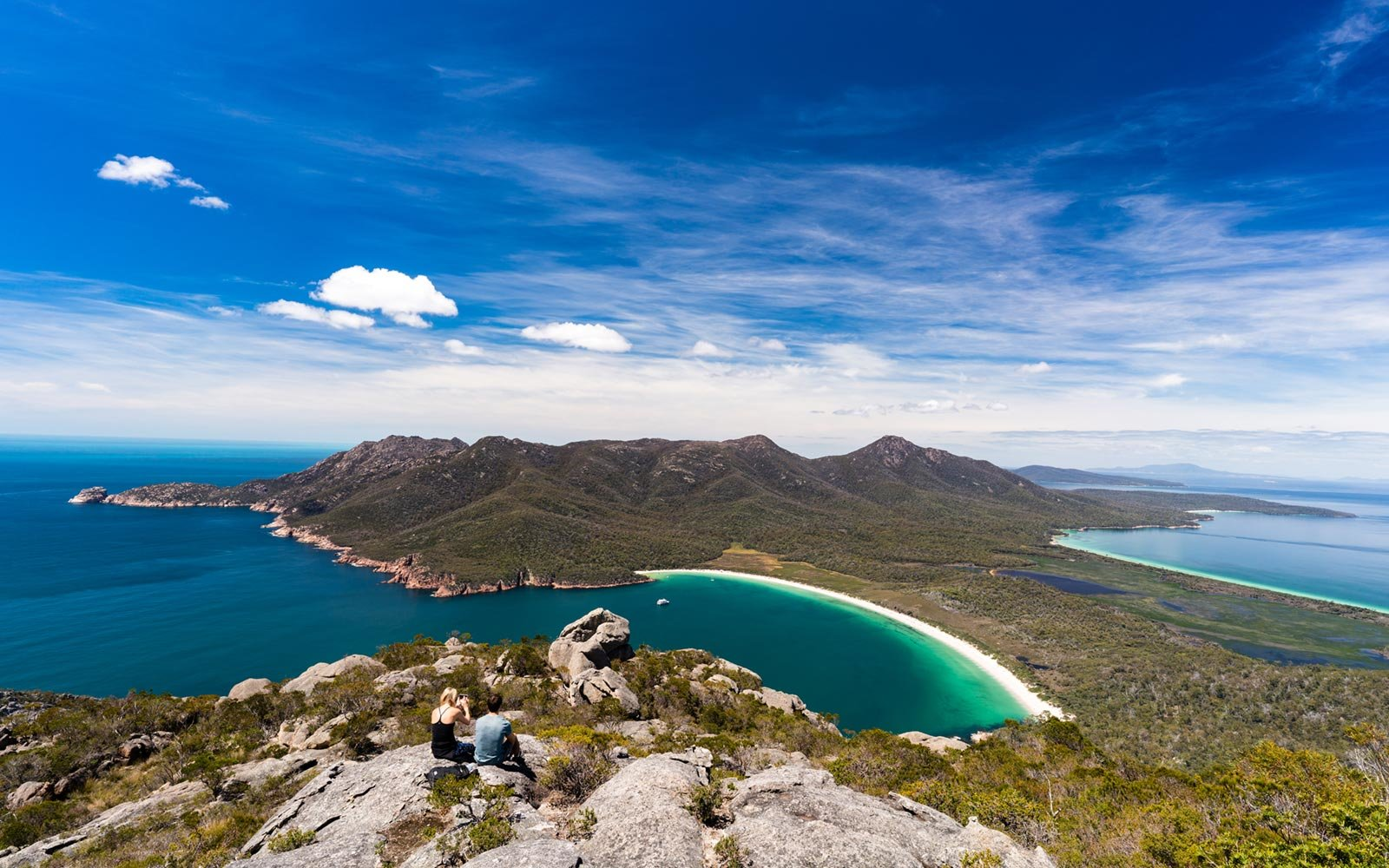 Wineglass Bay, Freycinet National Park, Tasmania, Australia