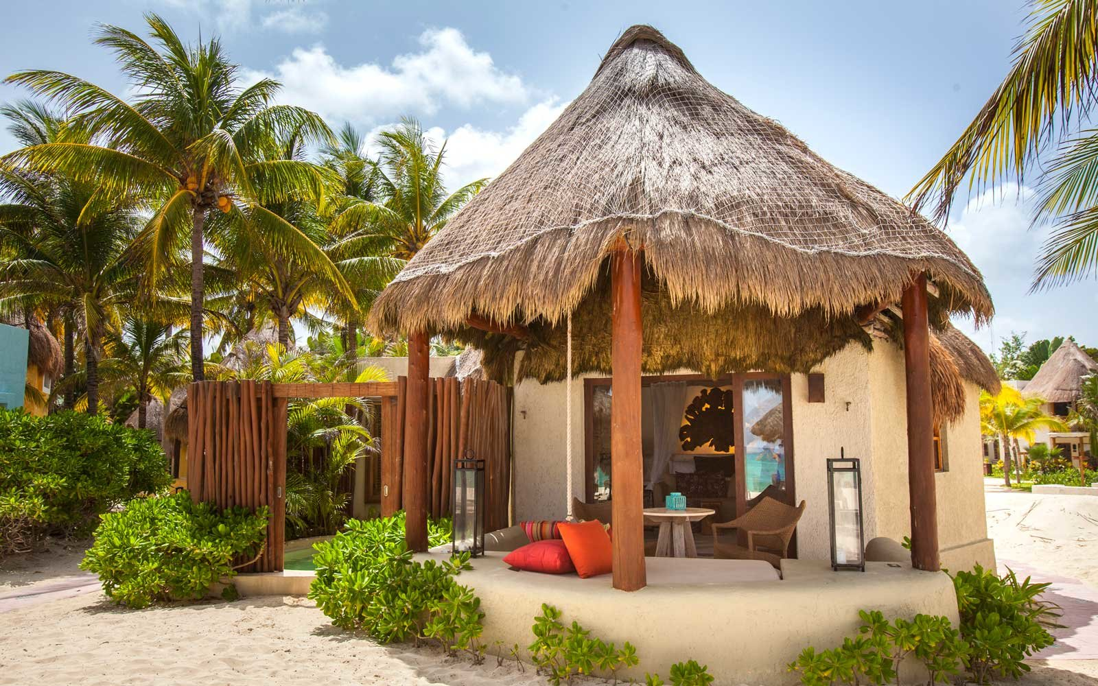 12 secluded bungalows in mexico for your next beach vacation rh travelandleisure com