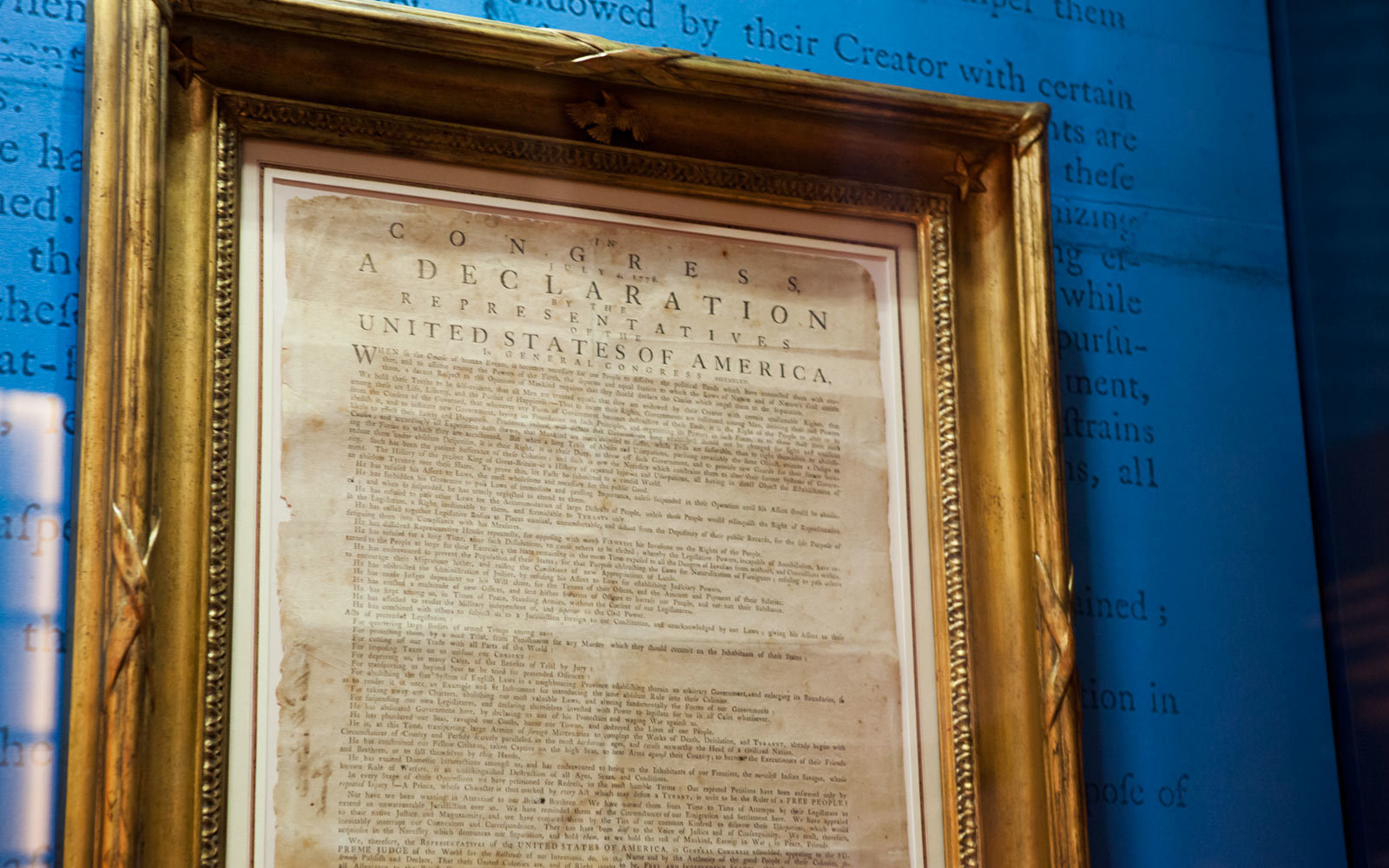Declaration of Independence, Museum of the American Revolution, Philadelphia, Pennsylvania