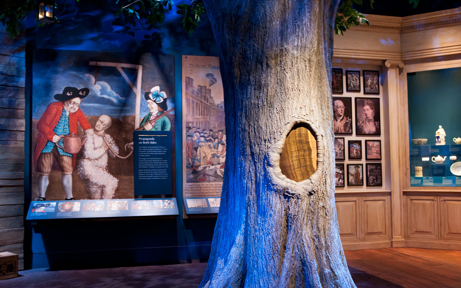 Liberty Tree, Annapolis, Museum of the American Revolution, Philadelphia, Pennsylvania