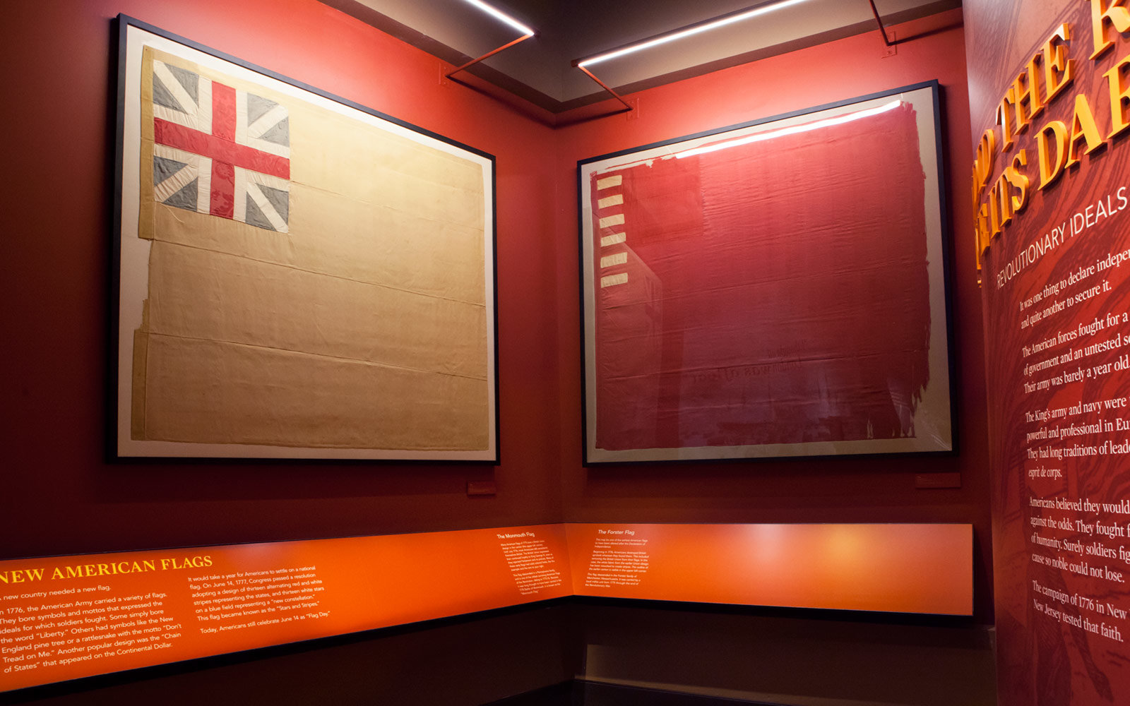 Revolutionary Flags, Museum of the American Revolution, Philadelphia, Pennsylvania