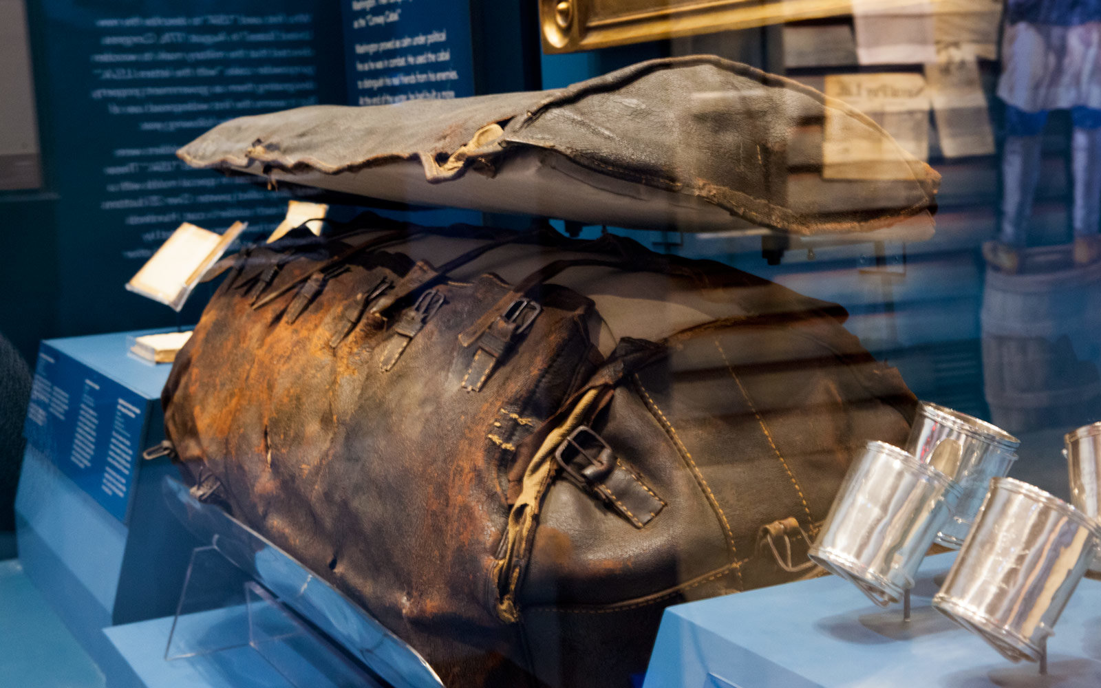 Washington's Luggage, Museum of the American Revolution, Philadelphia, Pennsylvania