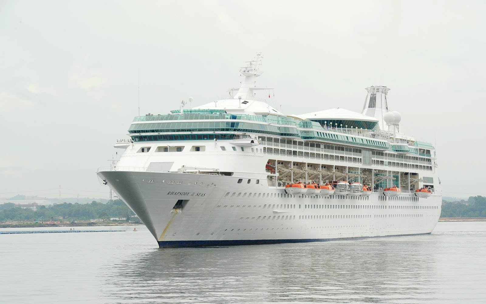 Five Things to Know About Royal Caribbean International's Rhapsody of the Seas Cruise Ship