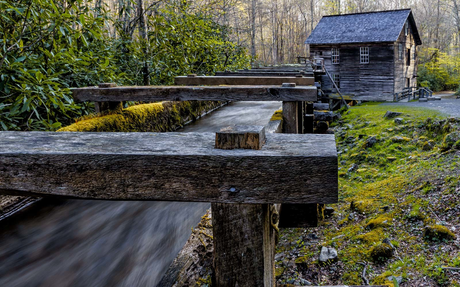 Mingus Mill at Great Smoky Mountains National Park