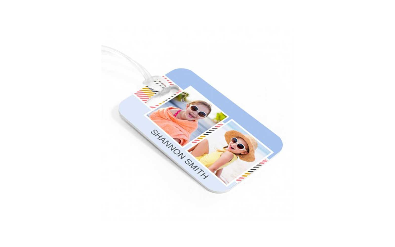 33 brilliant ways to actually use your travel photos travel luggage tag target magicingreecefo Choice Image
