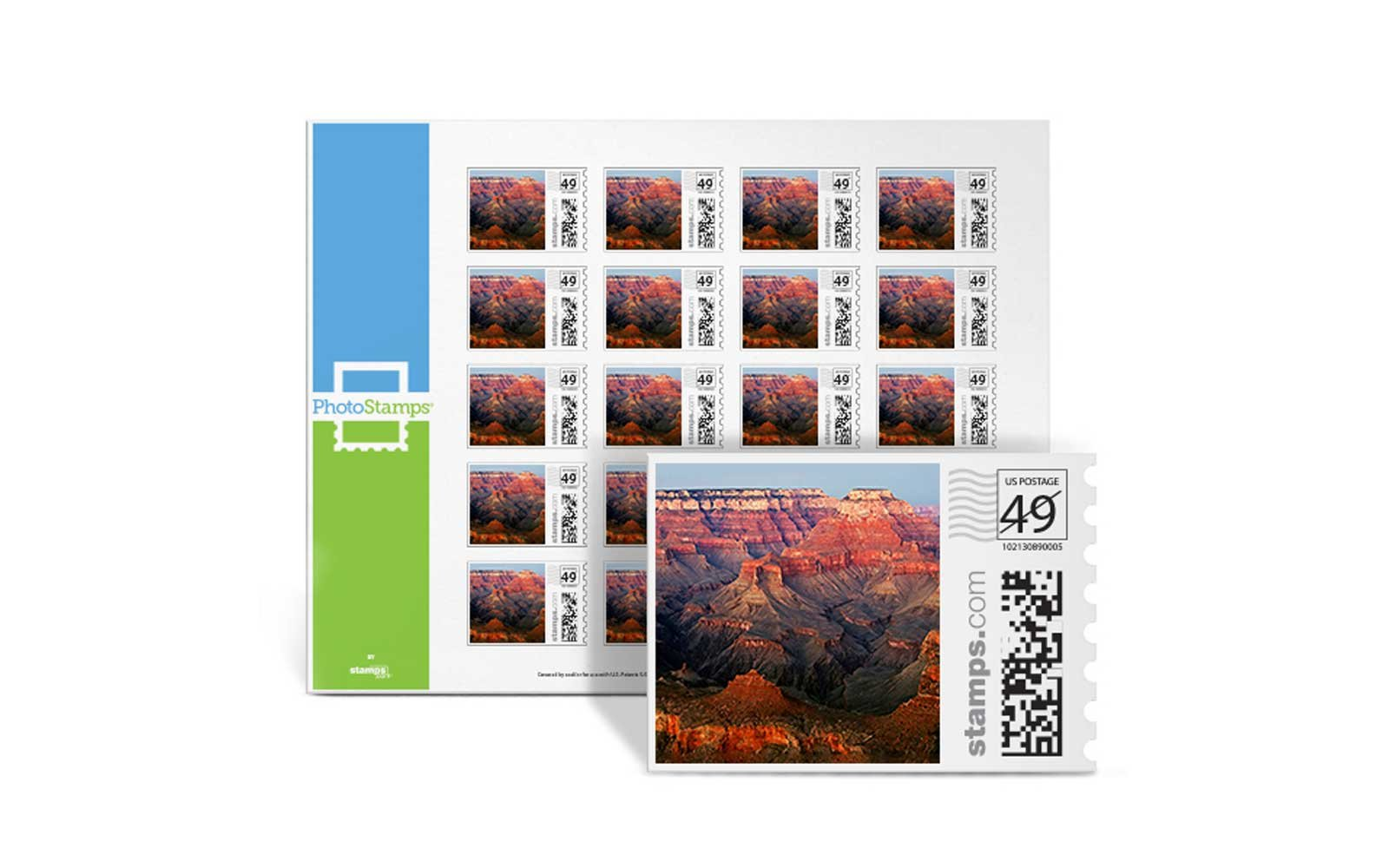 Postage Stamps, Stamps.com