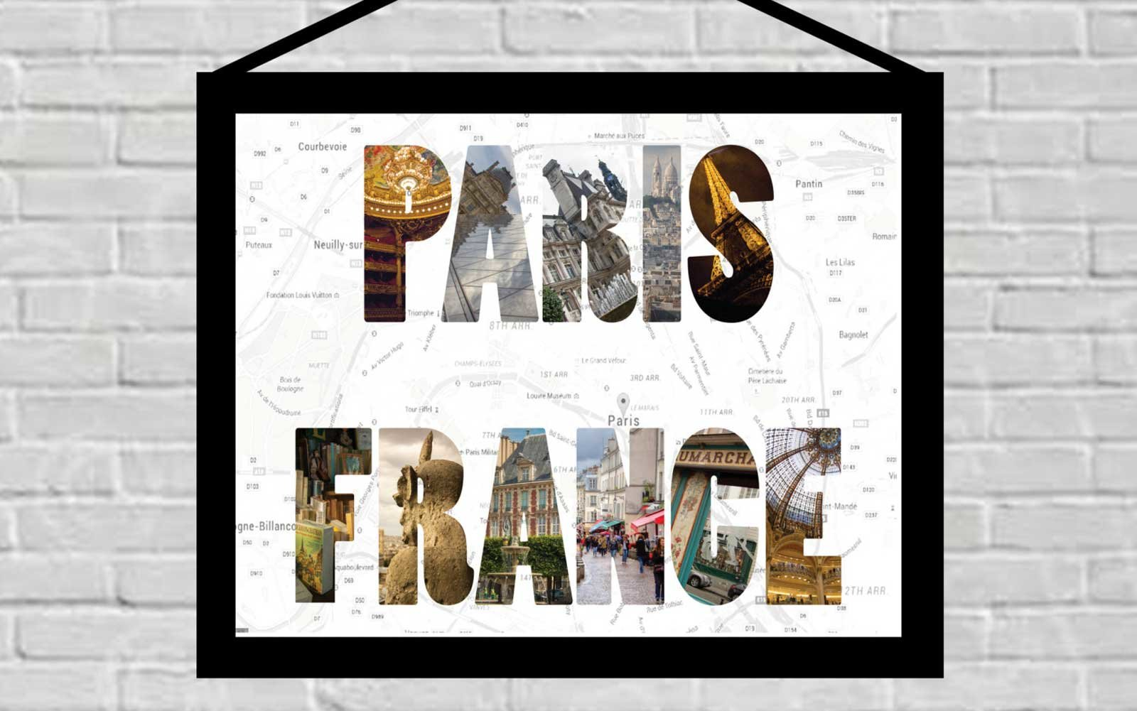 Travel Photo Type, Etsy