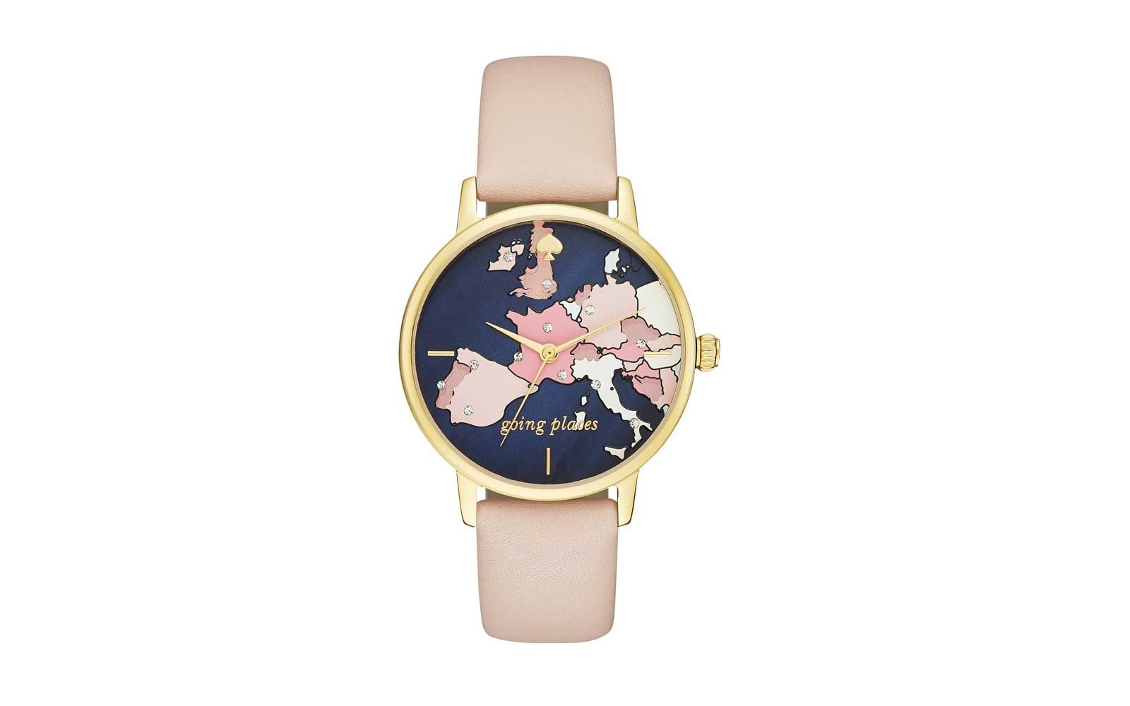 Kate Spade New York Leather Strap Watch