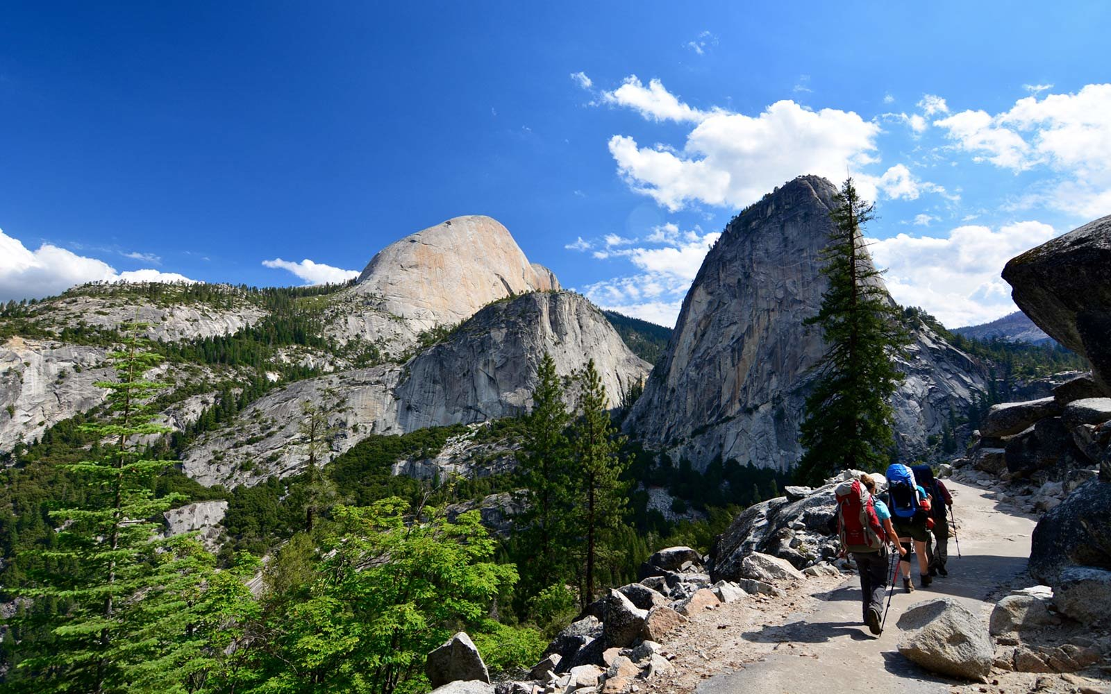 Half Dome Day Hike, Yosemite National Park, California
