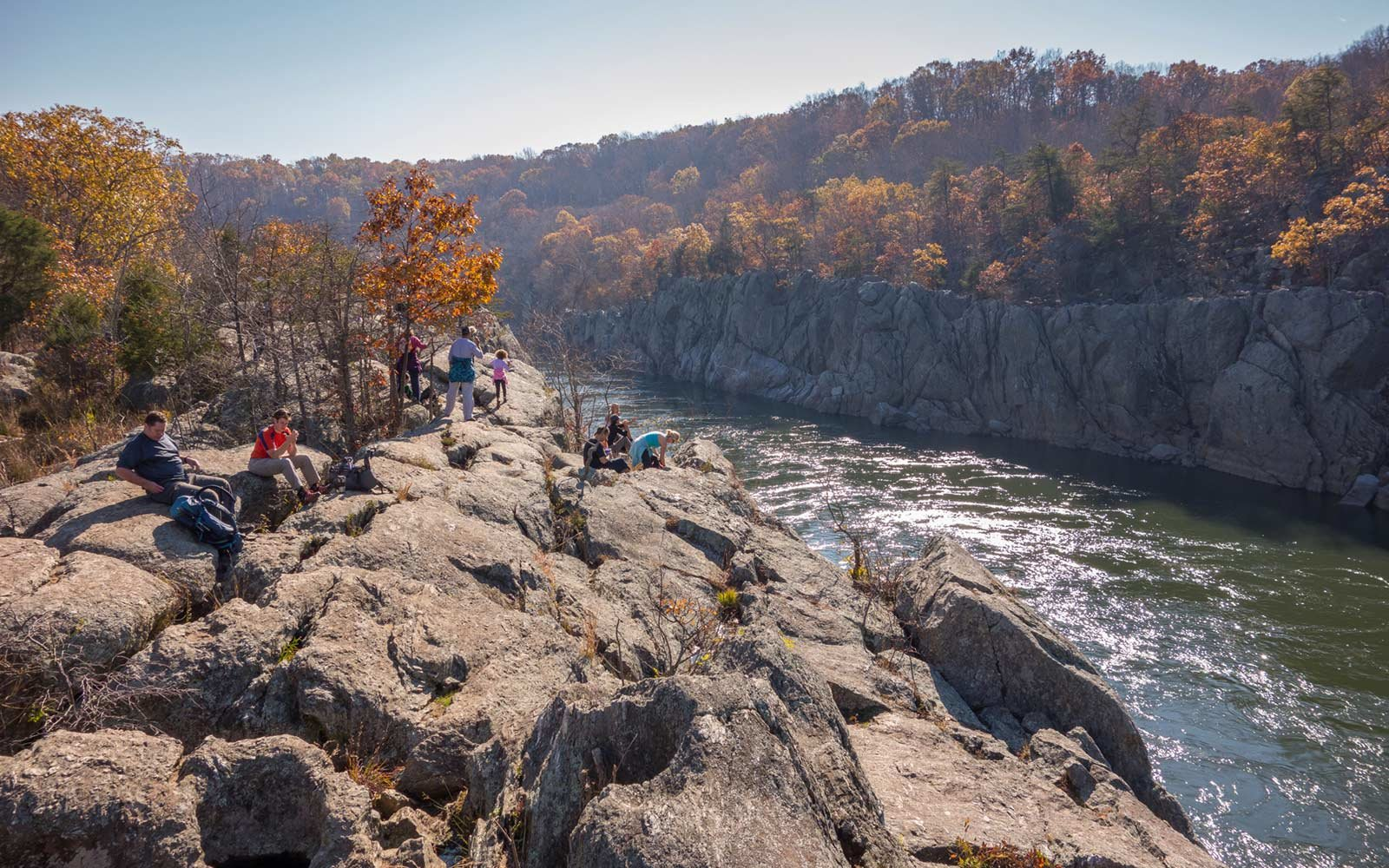 Billy Goat Trail, Great Falls, Potomac, Maryland