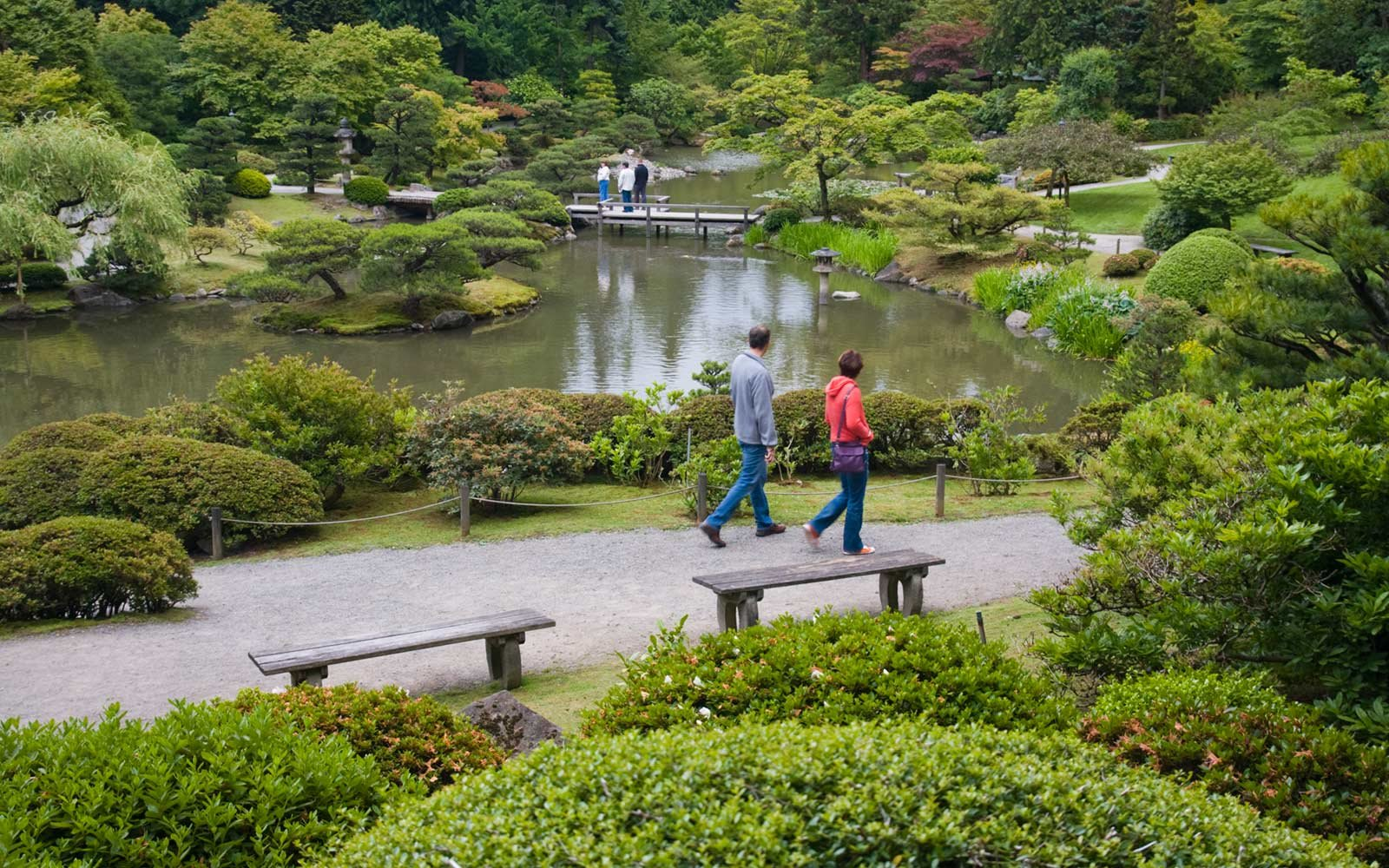 Japanese Garden, Washington Park Arboretum, Seattle, Washington