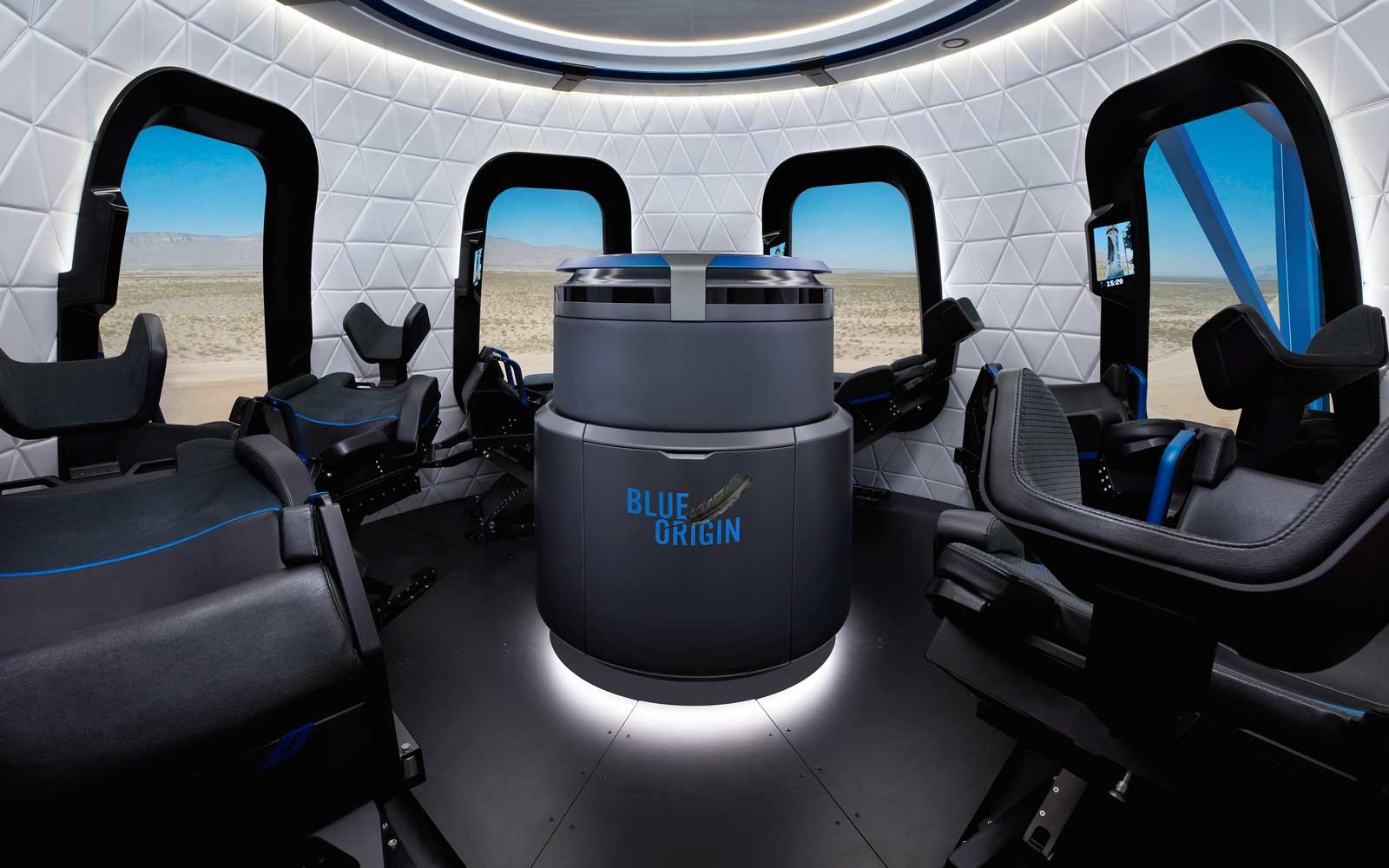 Blue Origin Spaceship