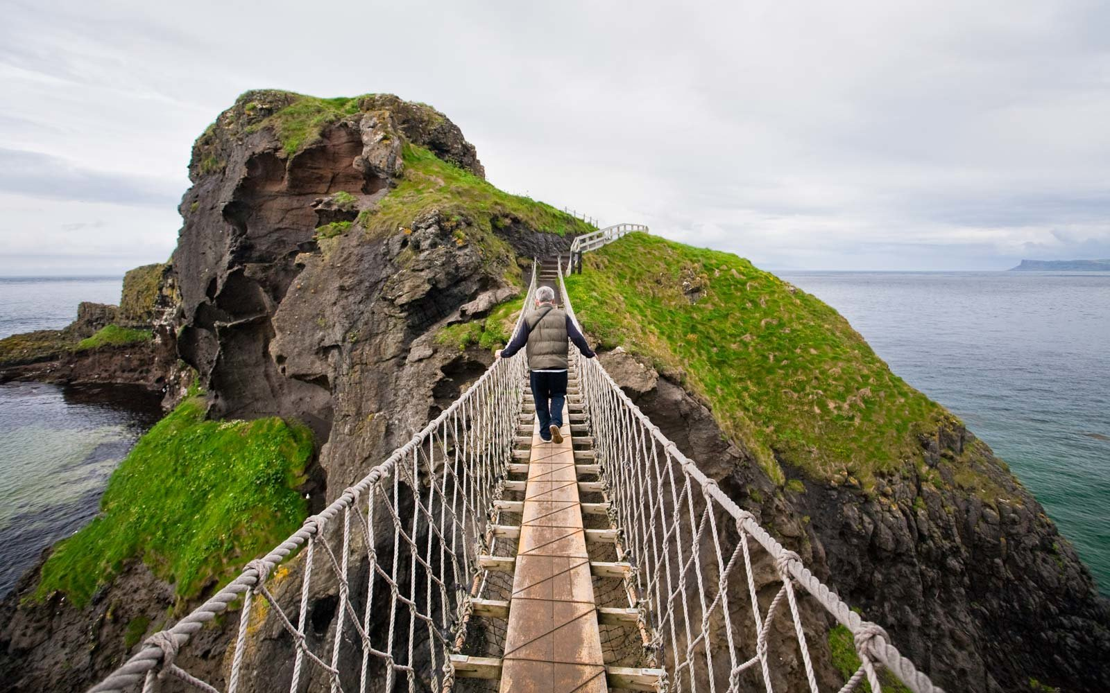 Ireland Carrick A Rede Bridge on Different Types Of Wire Rope
