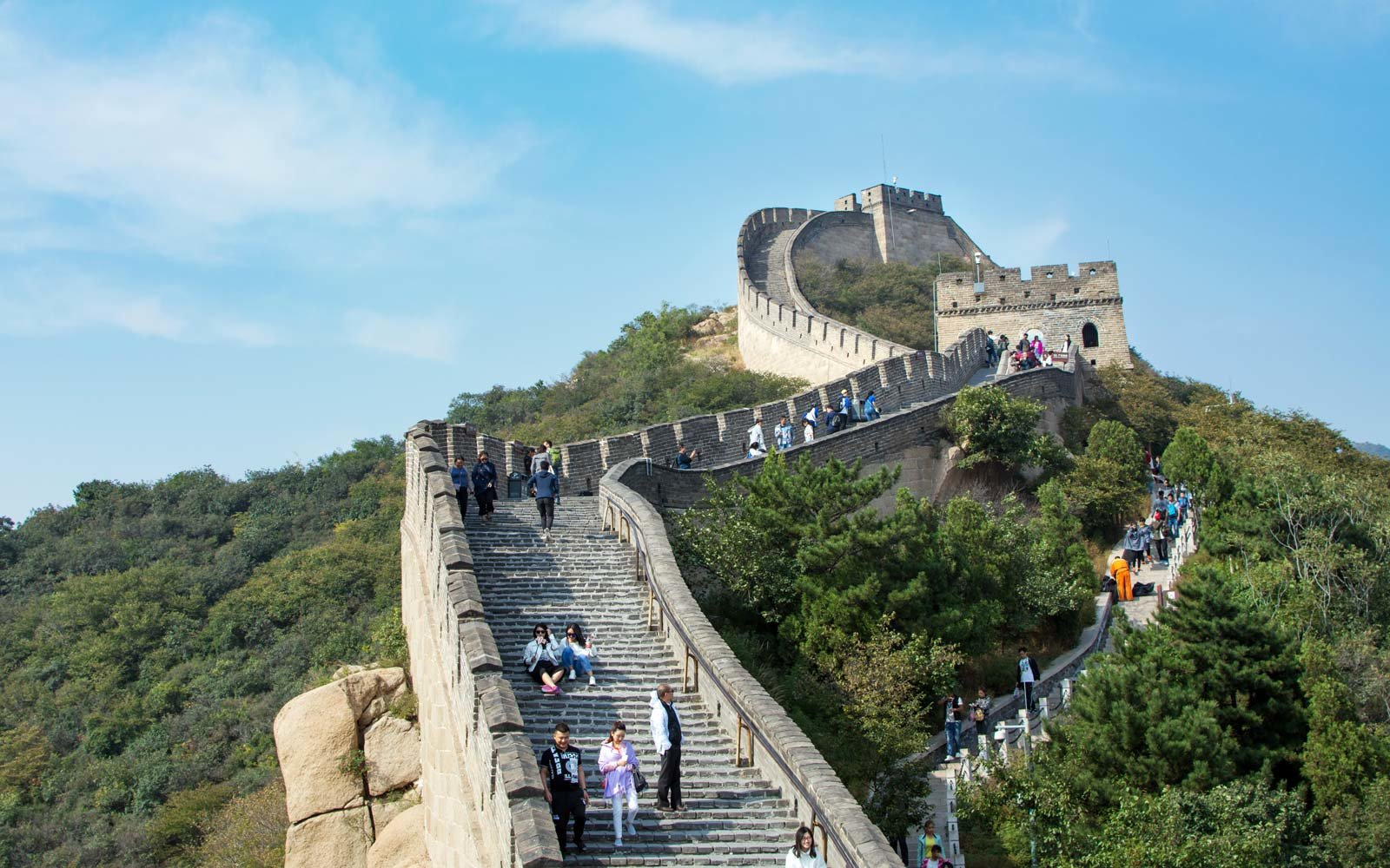 Where is the Great Wall of China?