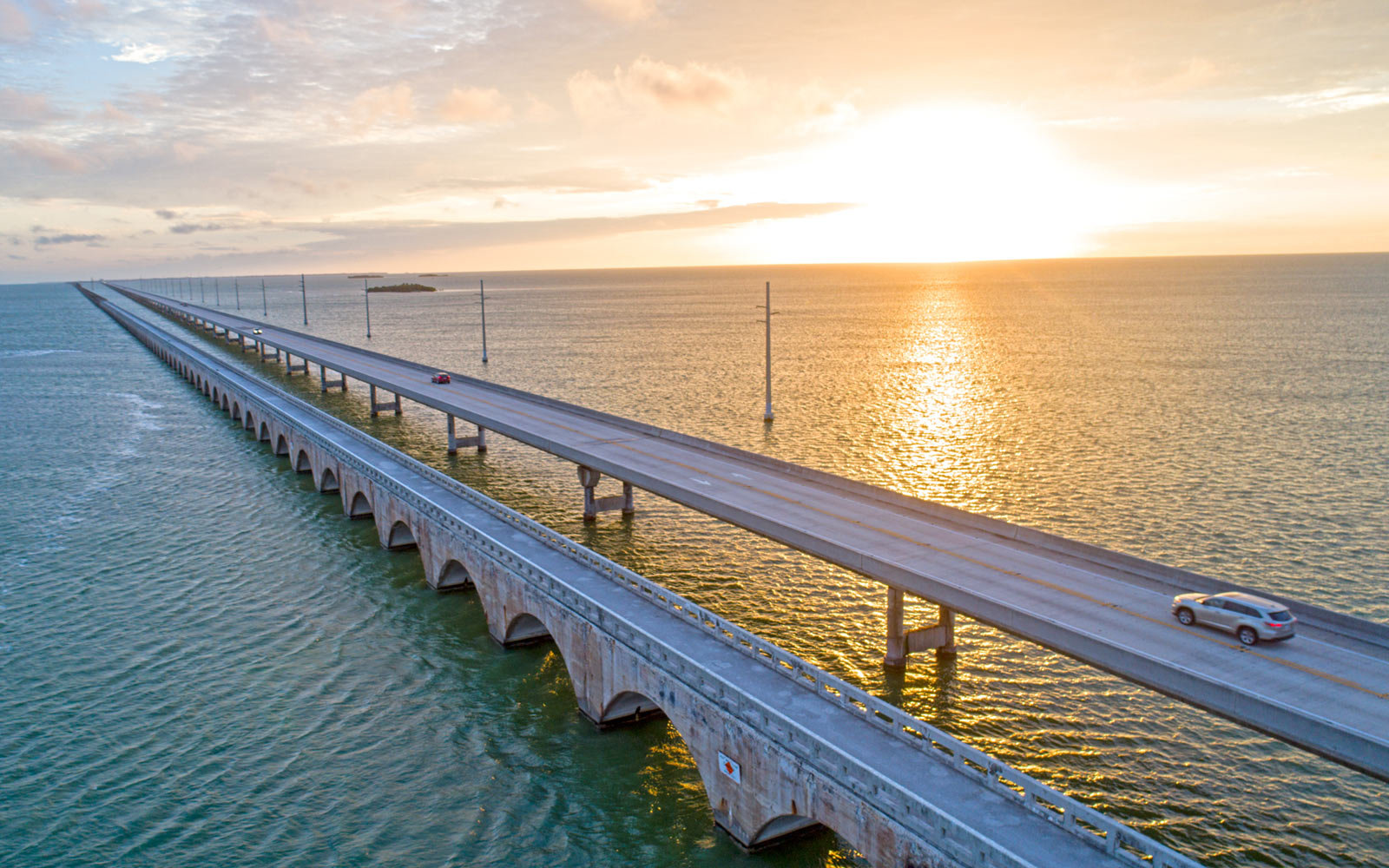 Florida Oversea Highway, Seven Mile Bridge, Florida Keys